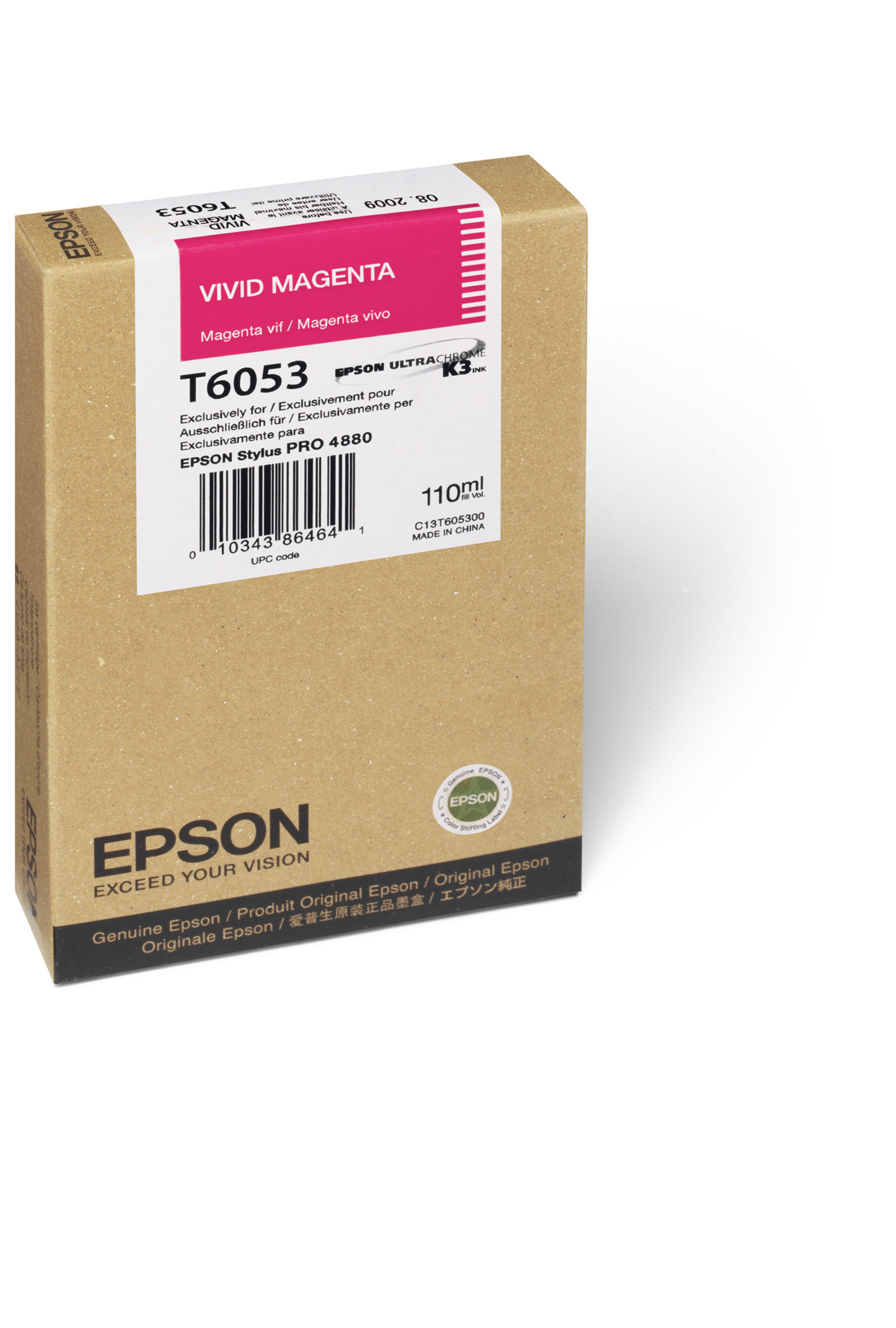 Epson EPSON SD MAGENTA INK (110 ML) (T605B00)