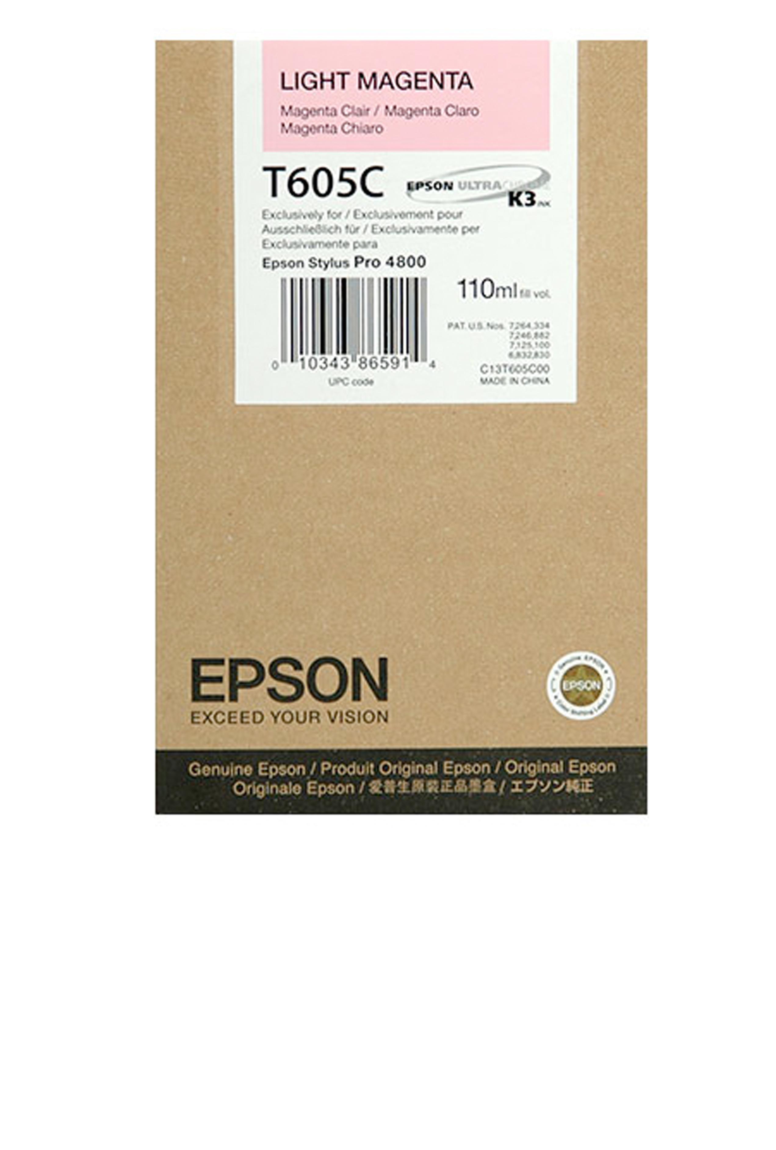 Epson EPSON SD LT MAGENTA INK (110 ML) (T605C00)