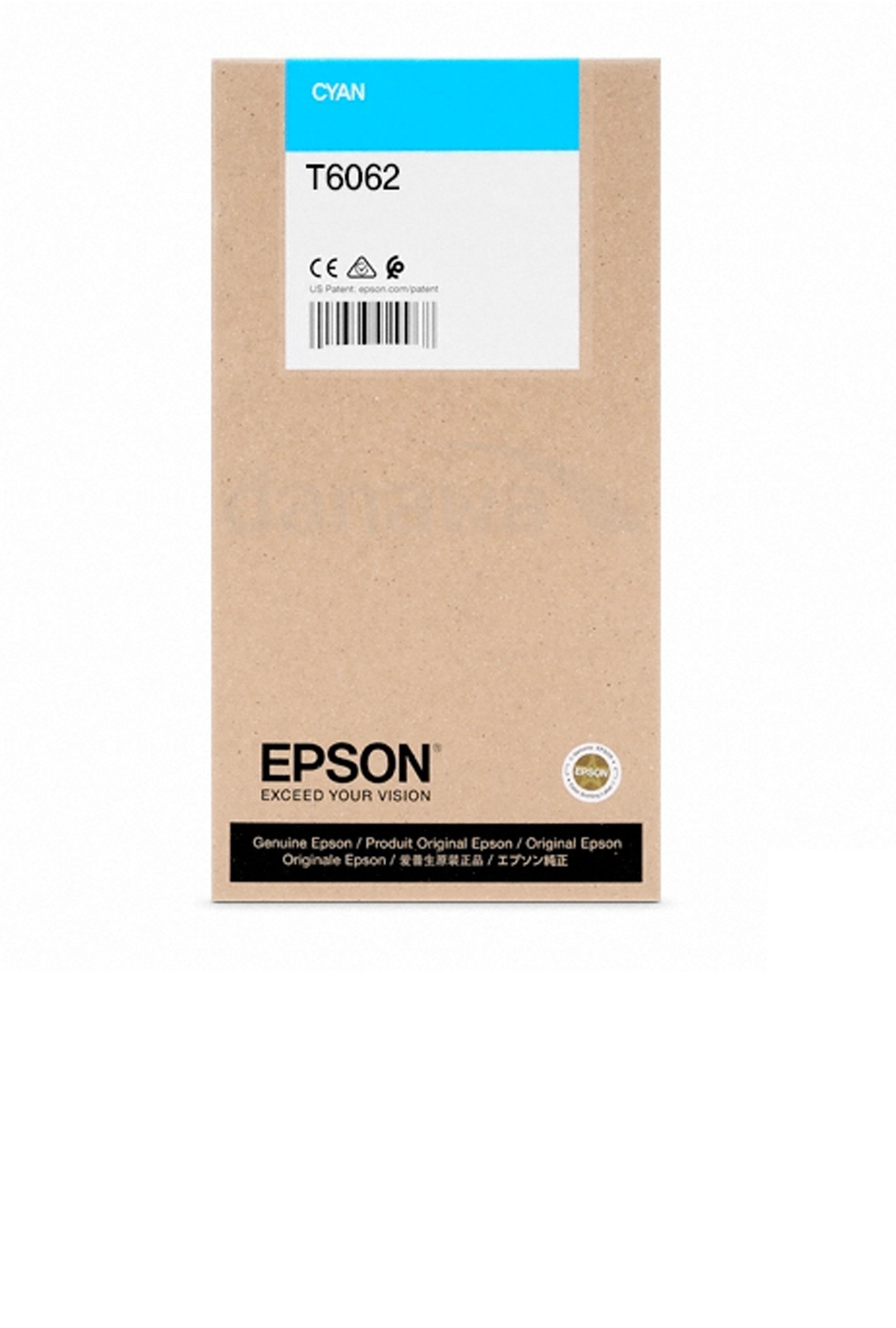 Epson EPSON HI CYAN INK (220 ML) (T606200)