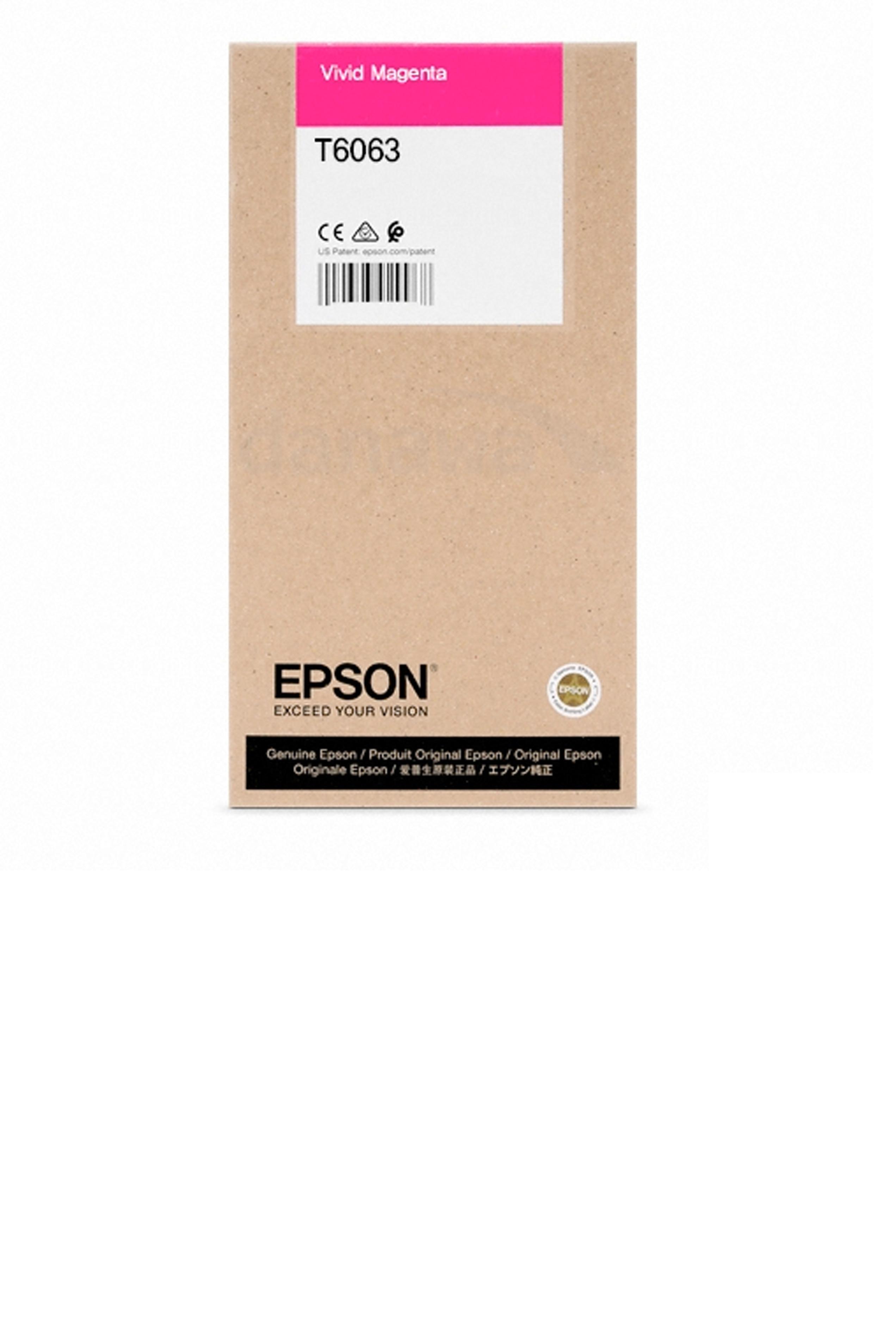 Epson EPSON HI VIVID MAGENTA INK (220 ML) (T606300)