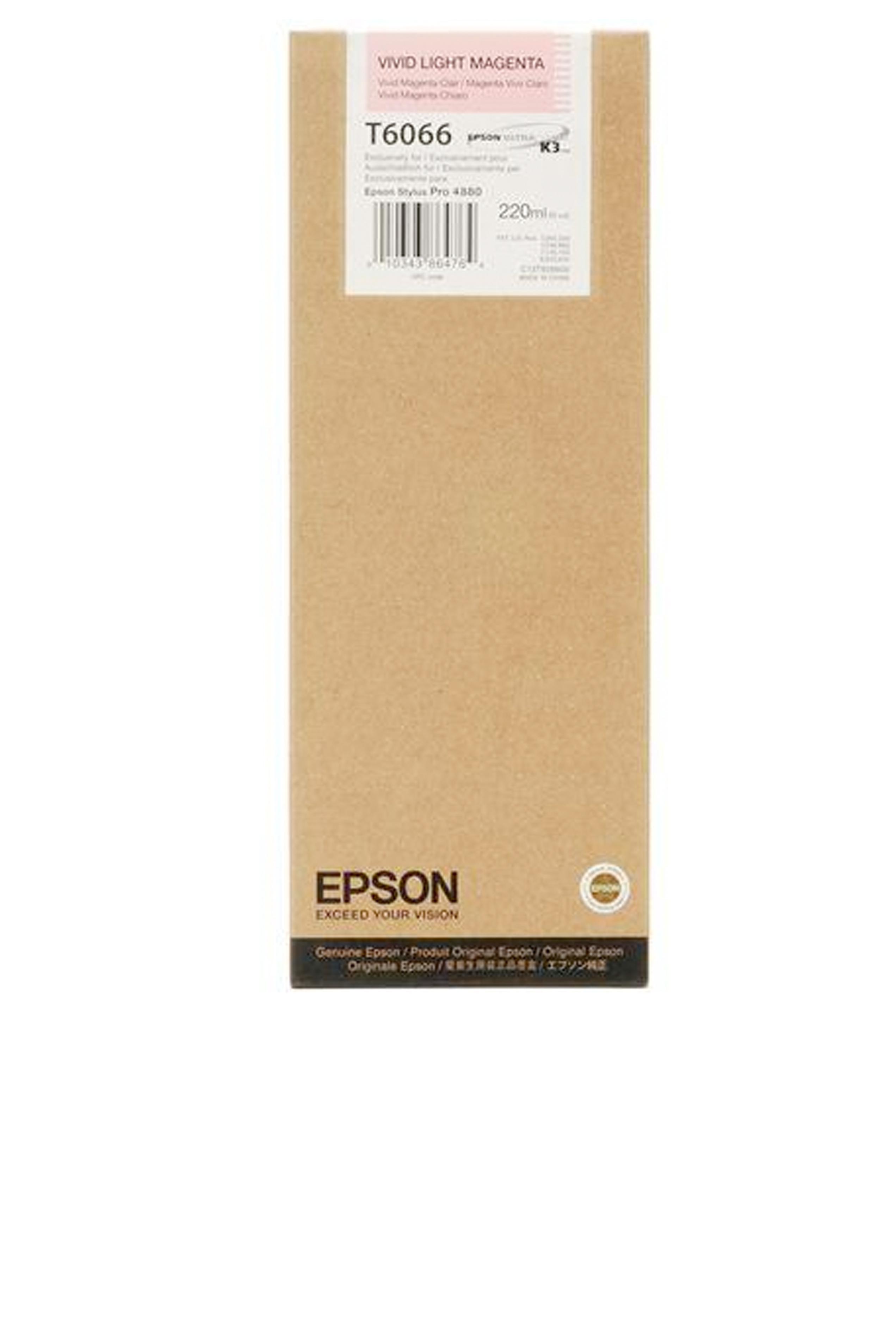 Epson EPSON HI VIVID LT MAGENTA (220 ML) (T606600)