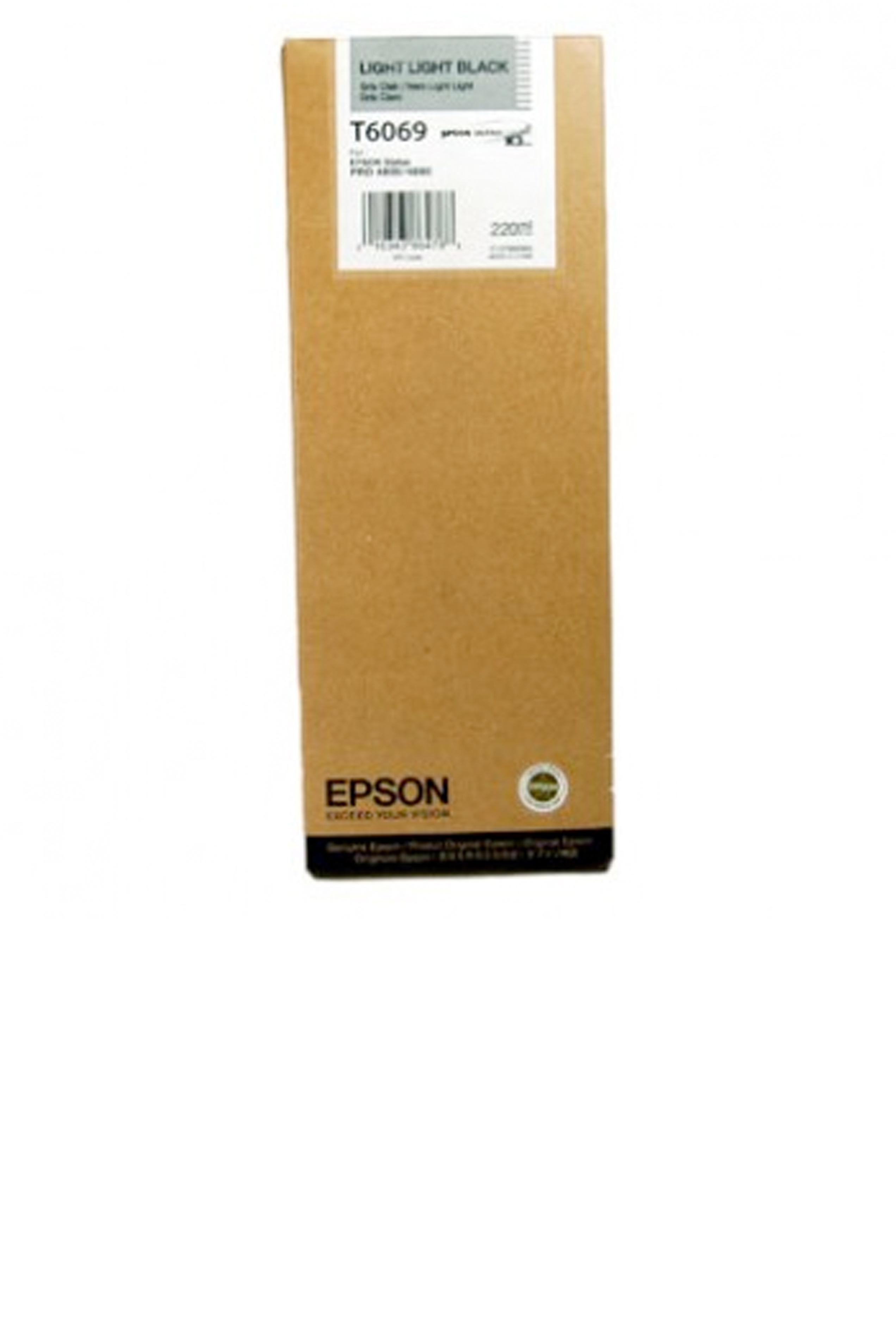 Epson EPSON HI LT BLACK INK (220 ML) (T606900)