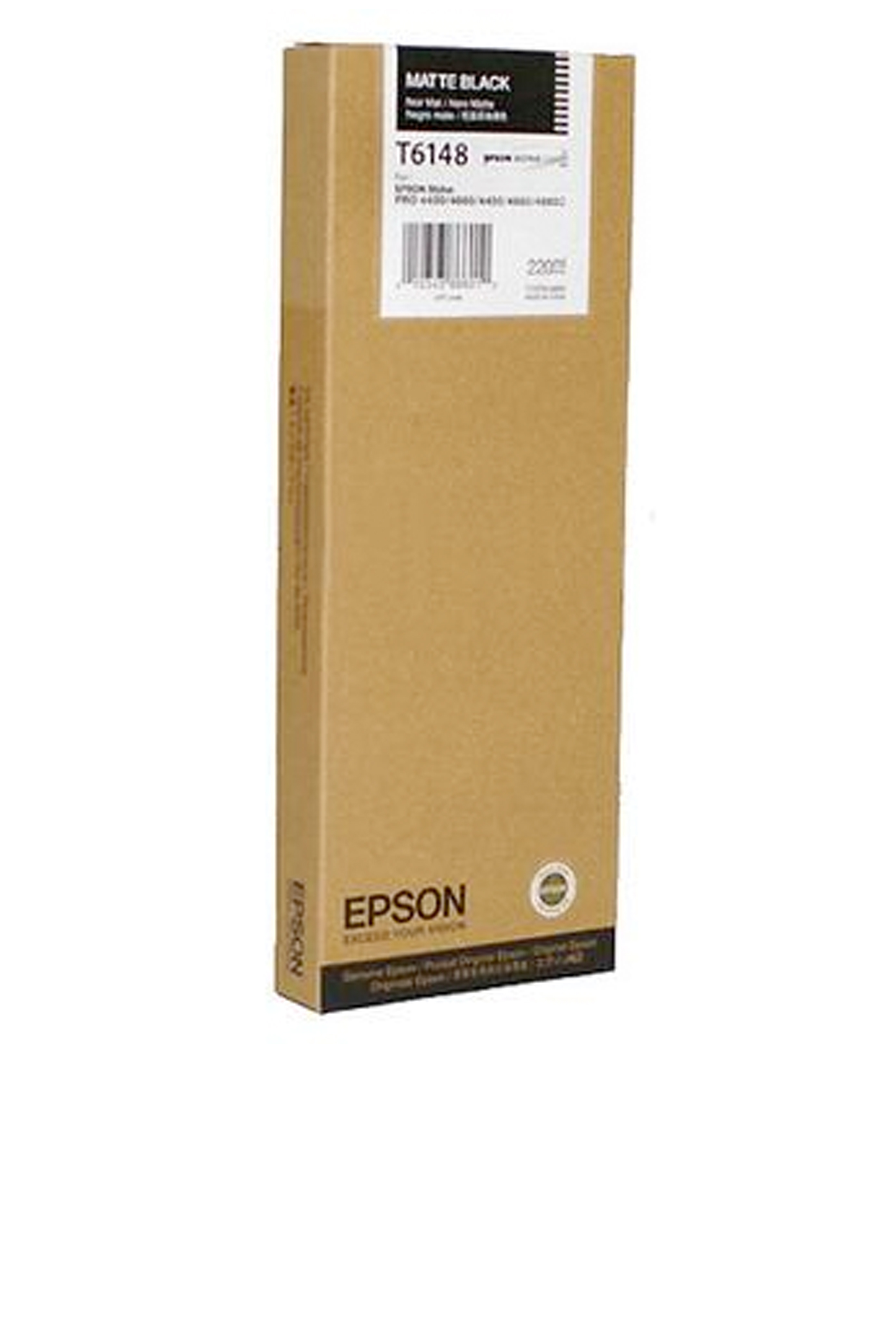 Epson EPSON HI MATTE BLACK INK (220 ML) (T614800)