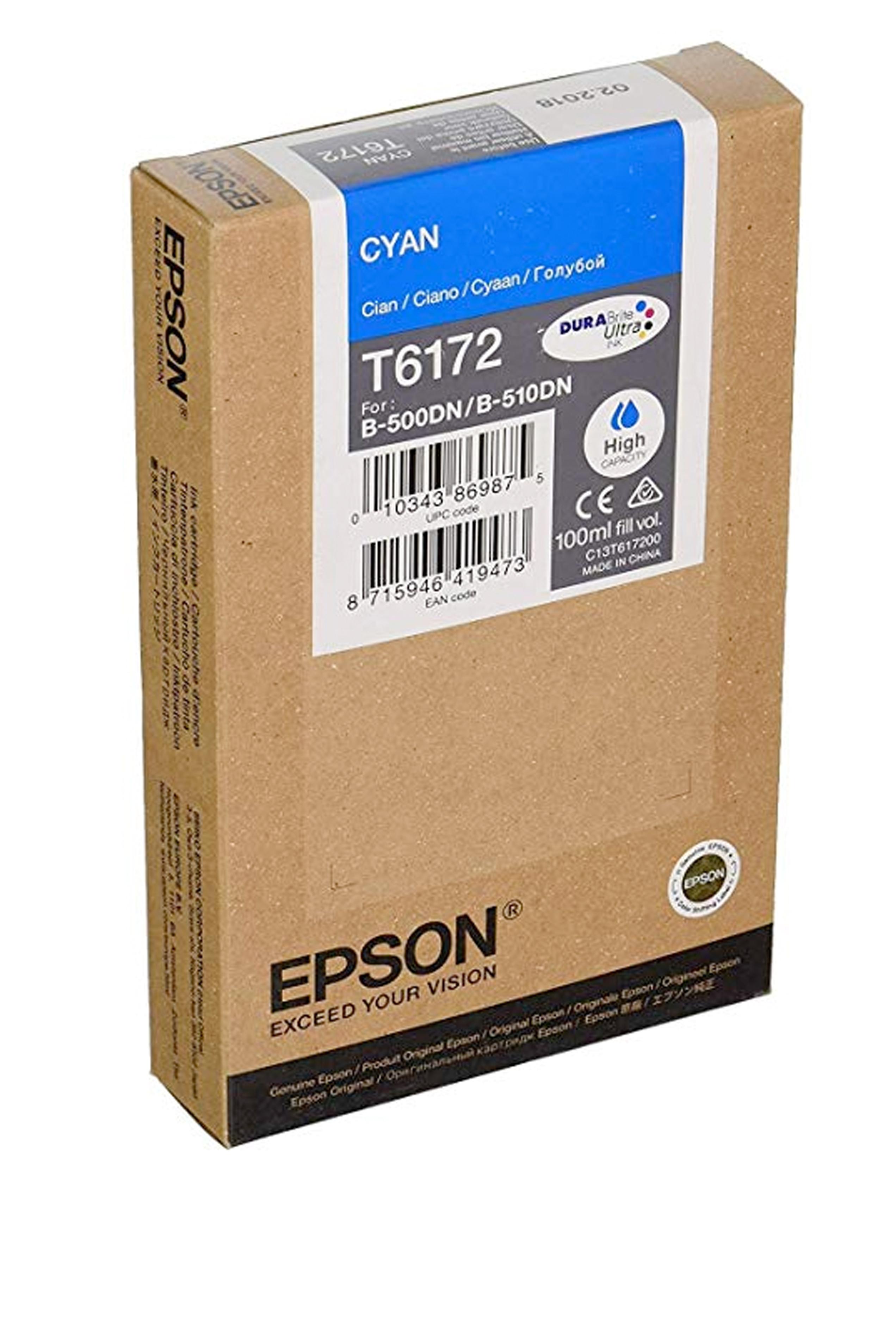 Epson EPSON HI CYAN INK (7000) (T617200)