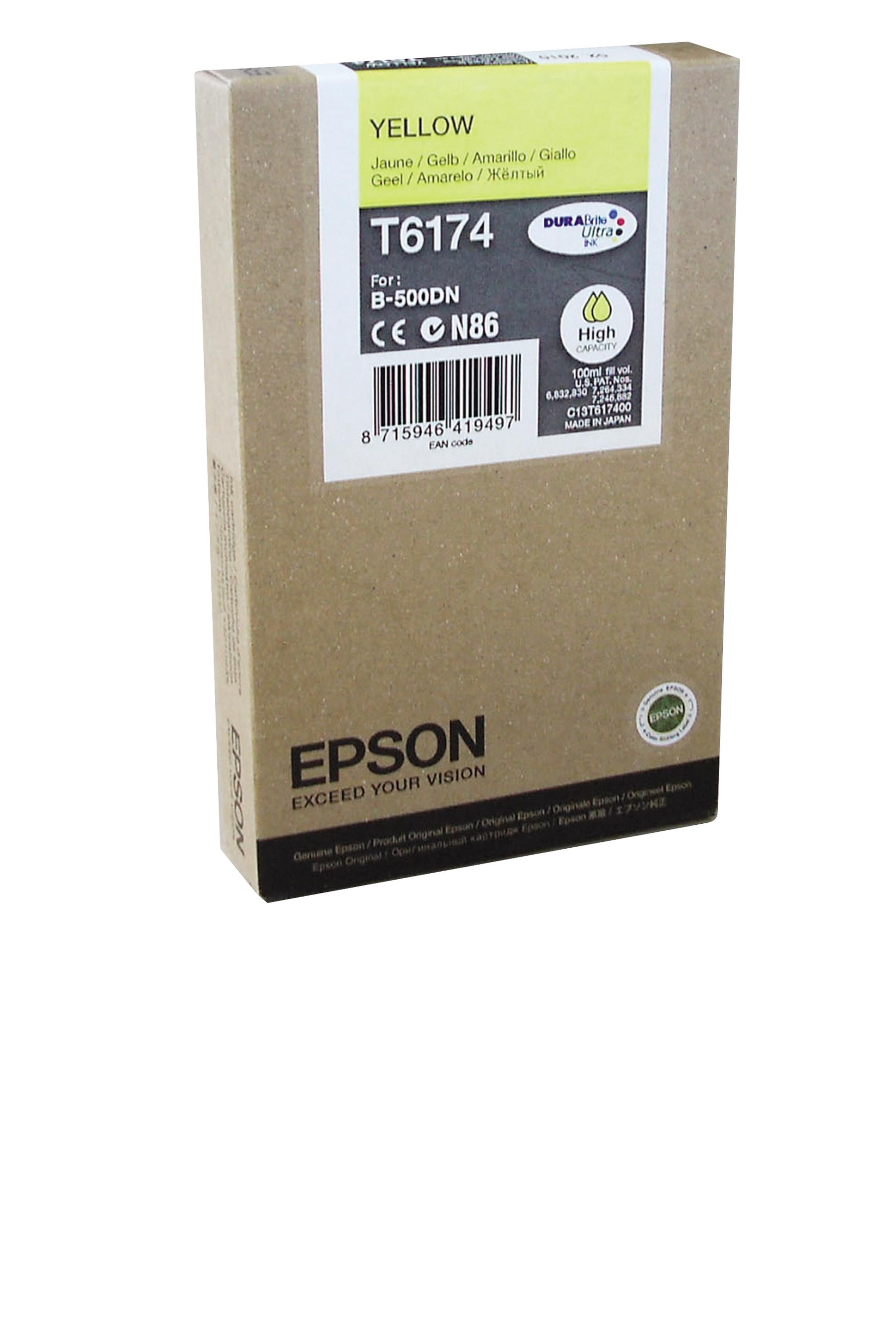 Epson EPSON HI YELLOW INK (7000) (T617400)