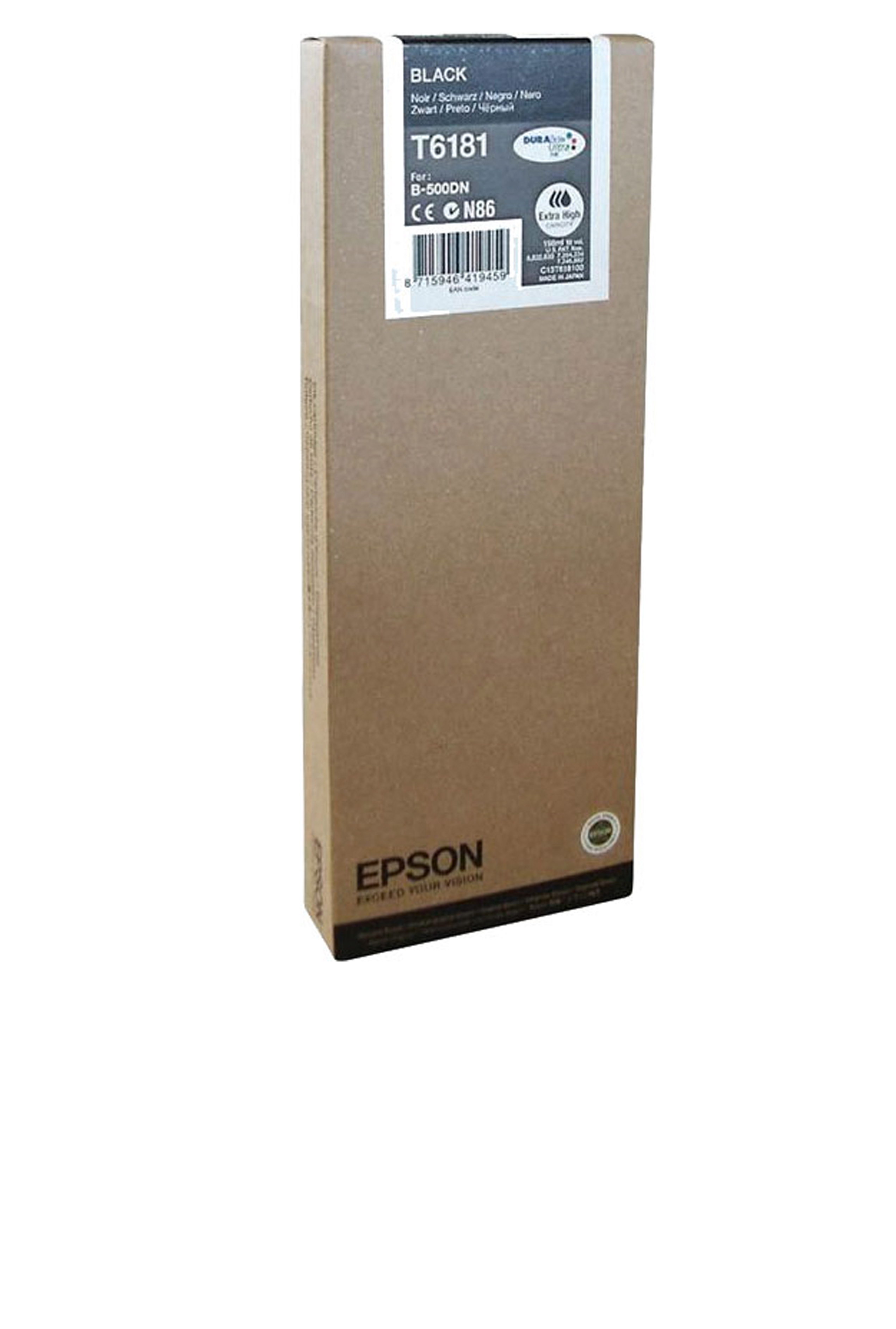 Epson EPSON XH BLACK INK (8000) (T618100)