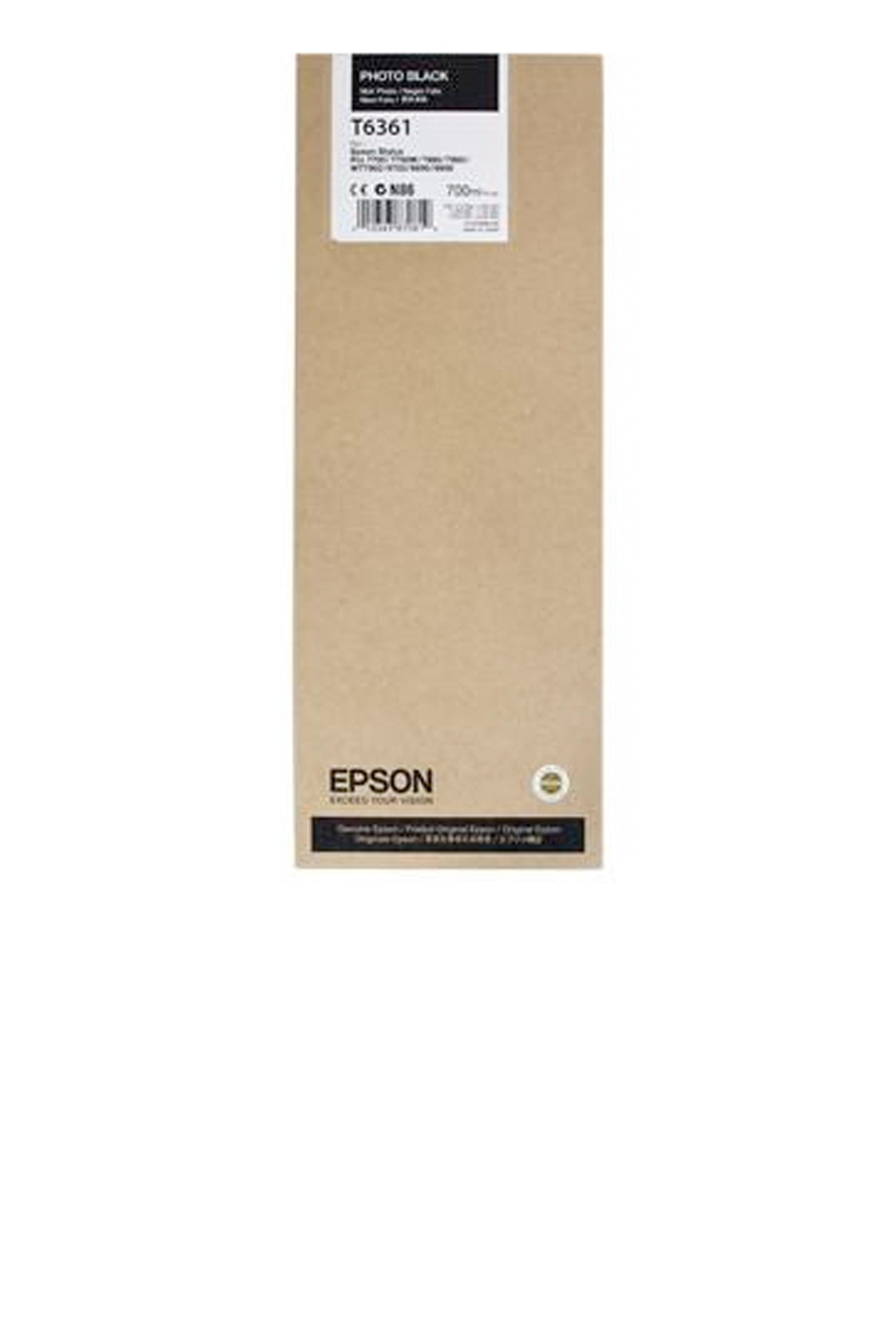 Epson EPSON HI PHOTO BLACK INK (700 ML) (T636100)