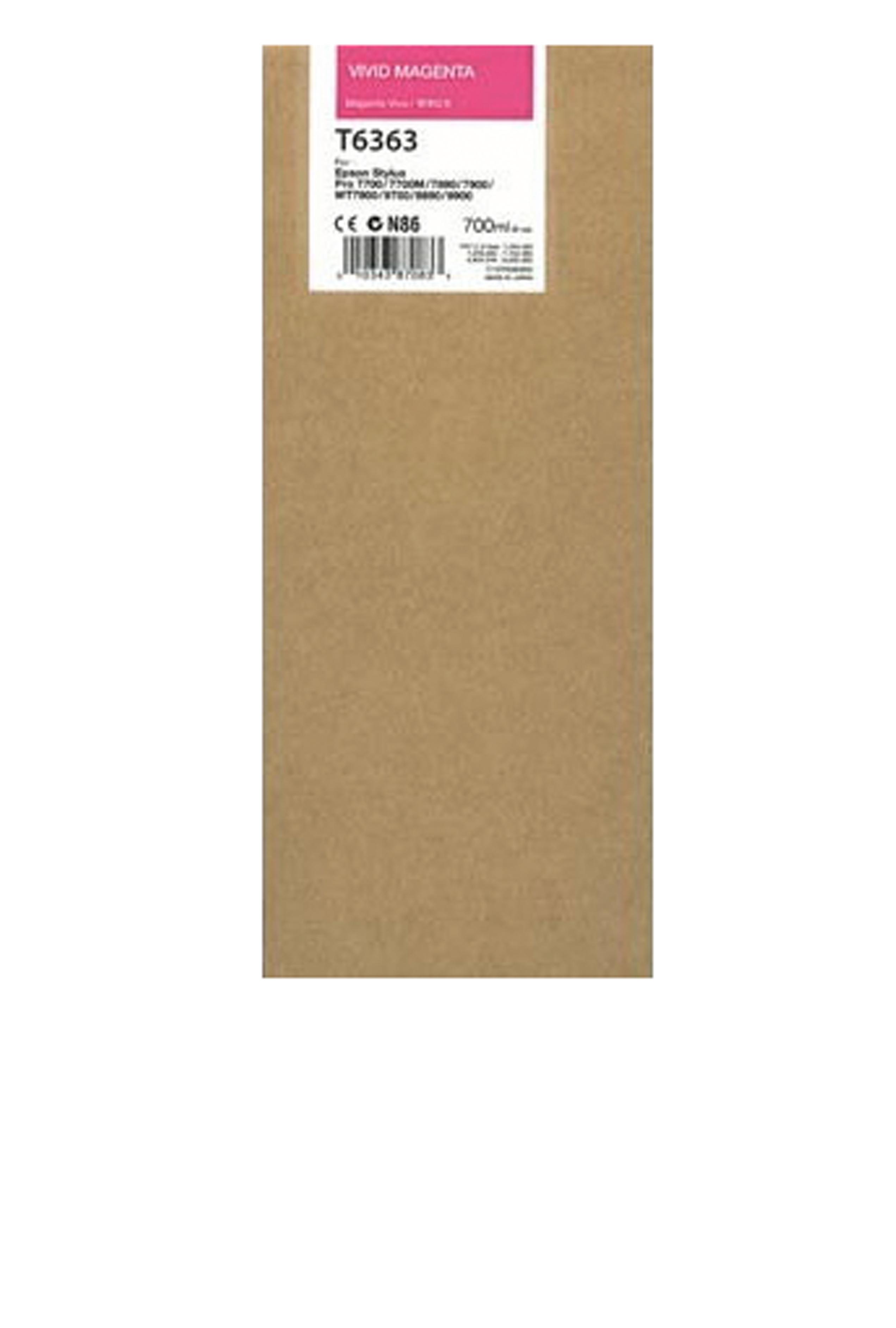 Epson EPSON HI VIVID MAGENTA INK (700 ML) (T636300)