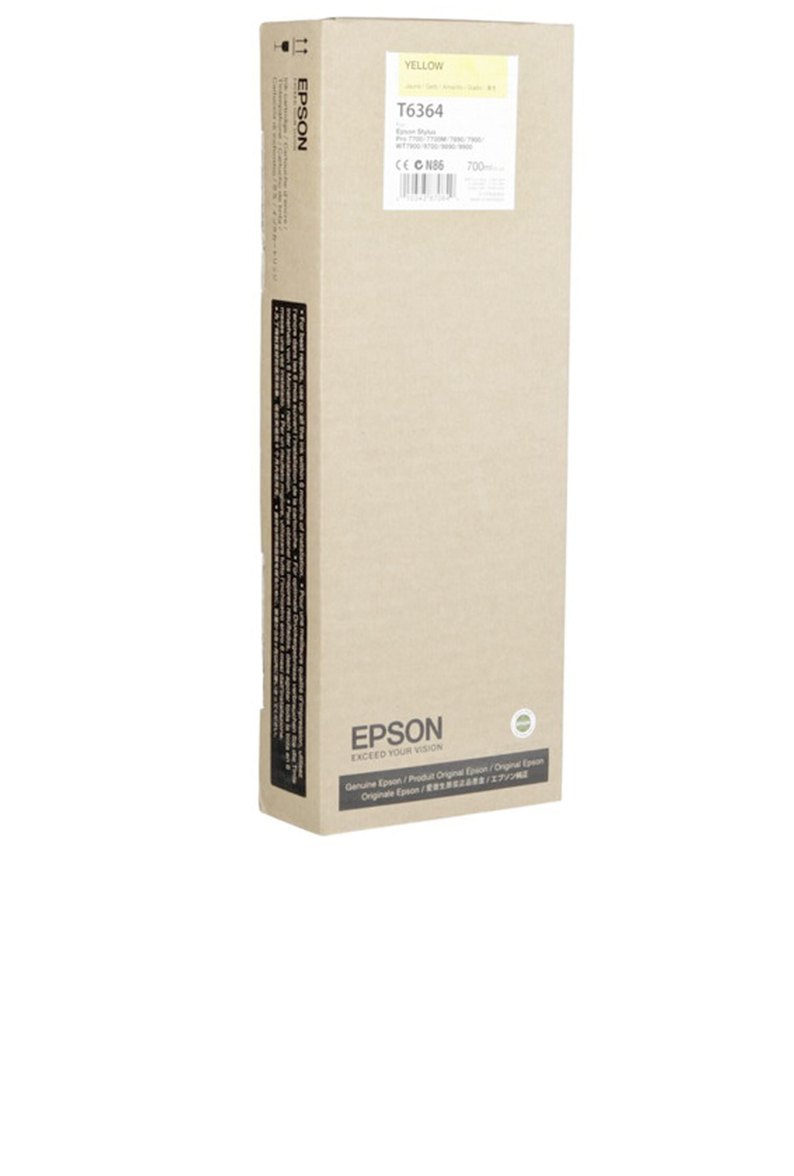 Epson EPSON HI YELLOW INK (700 ML) (T636400)