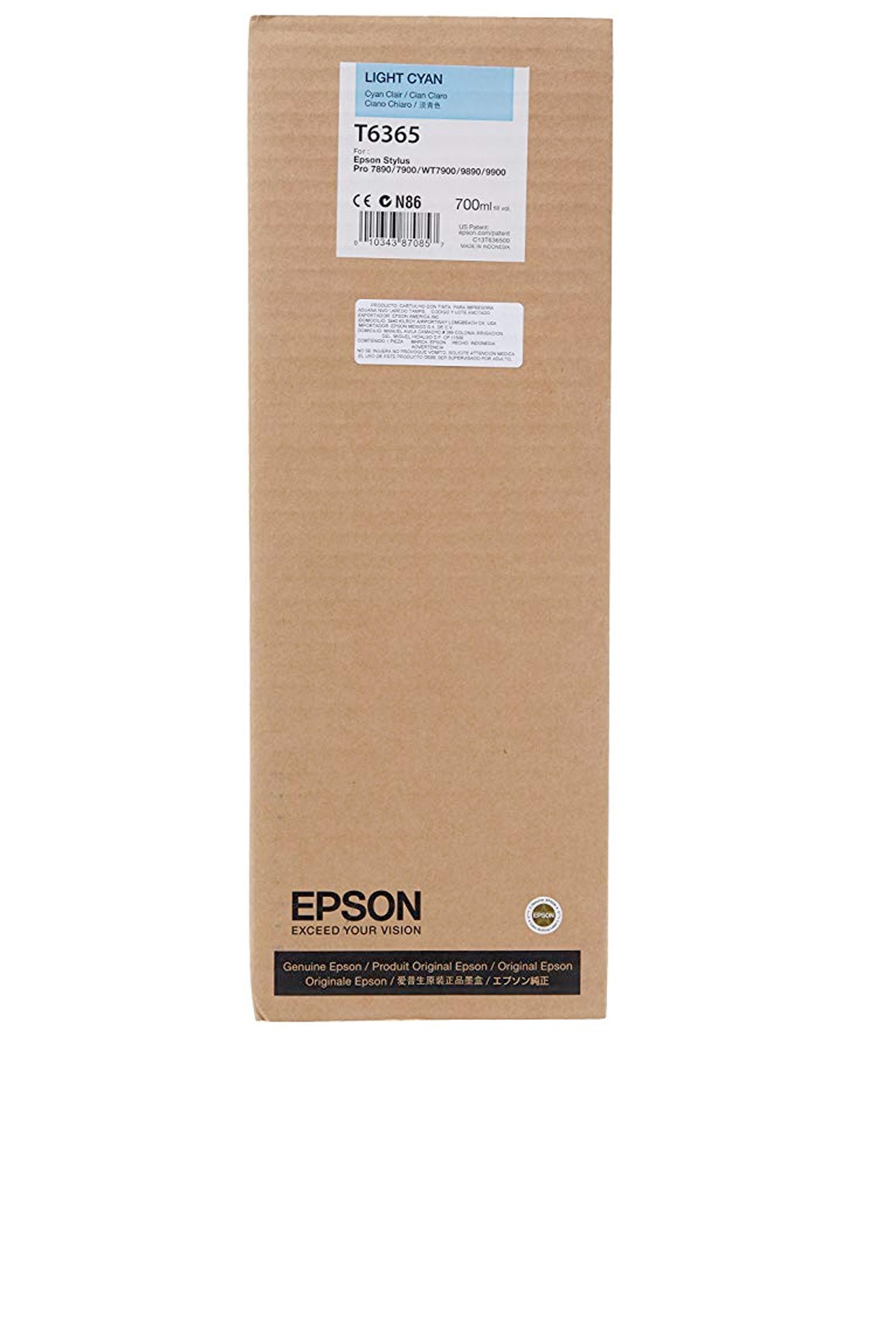 Epson EPSON HI LT CYAN INK (700 ML) (T636500)
