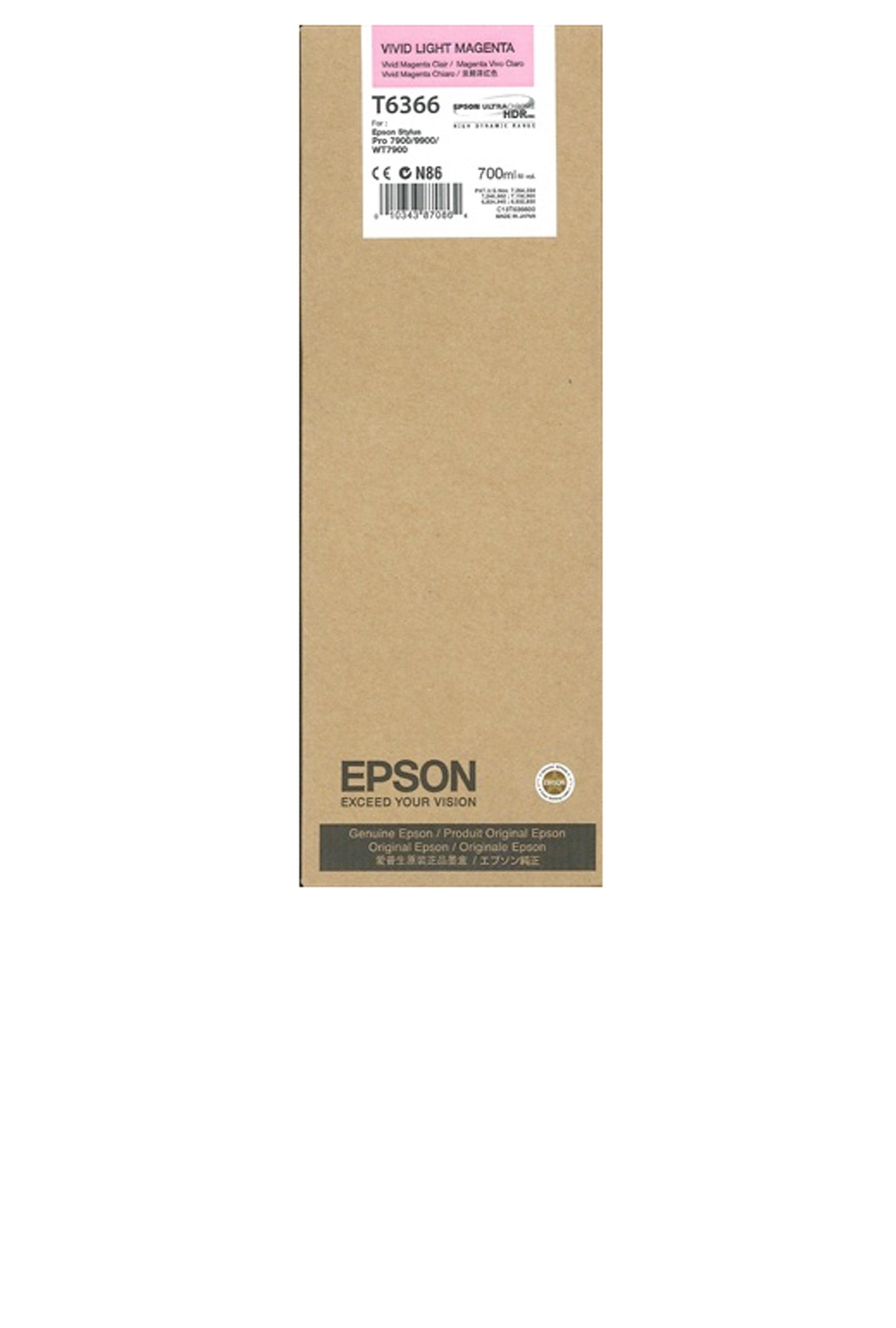 Epson EPSON HI VIVID LT MAGENTA (700 ML) (T636600)