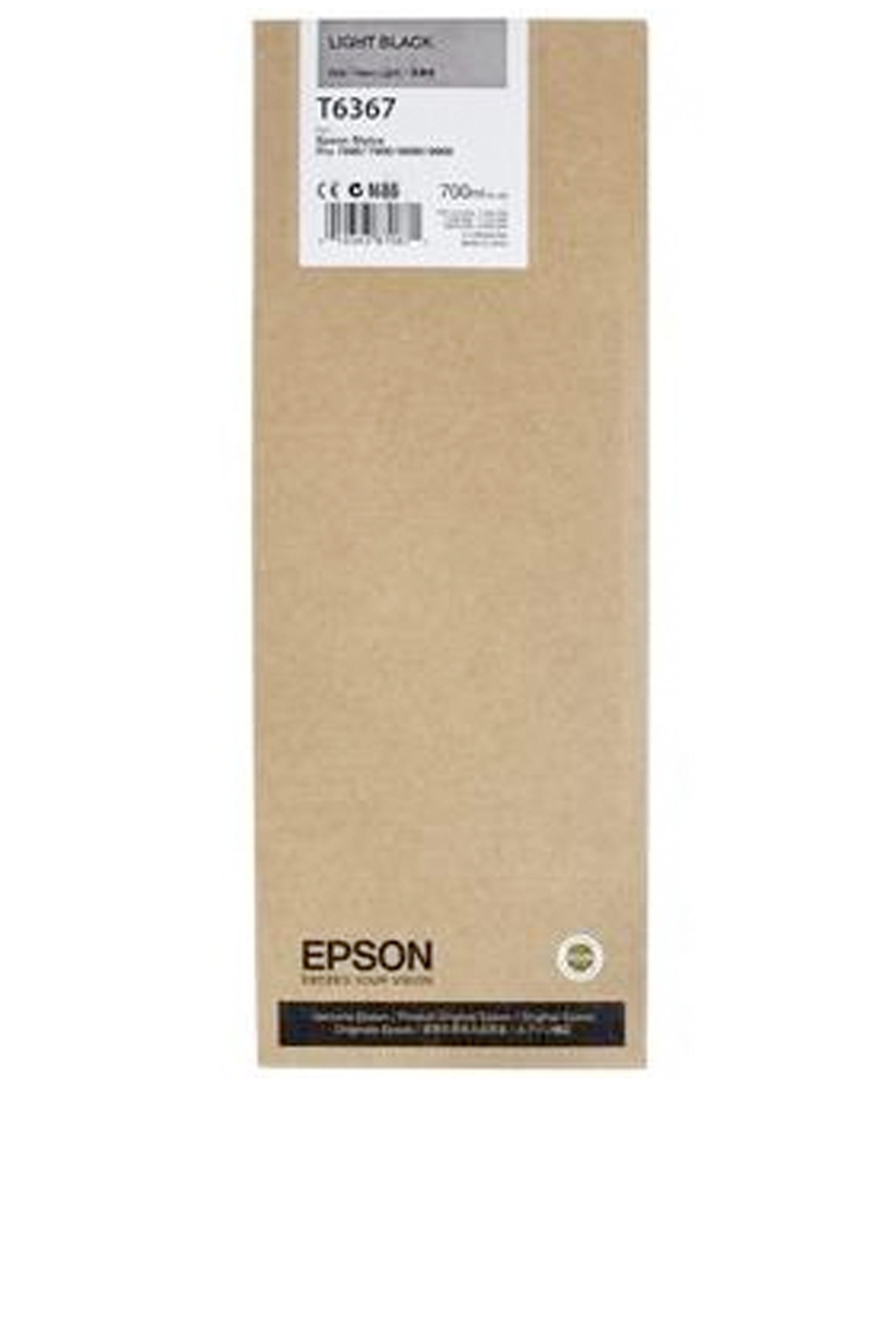 Epson EPSON HI LT BLACK INK (700 ML) (T636700)