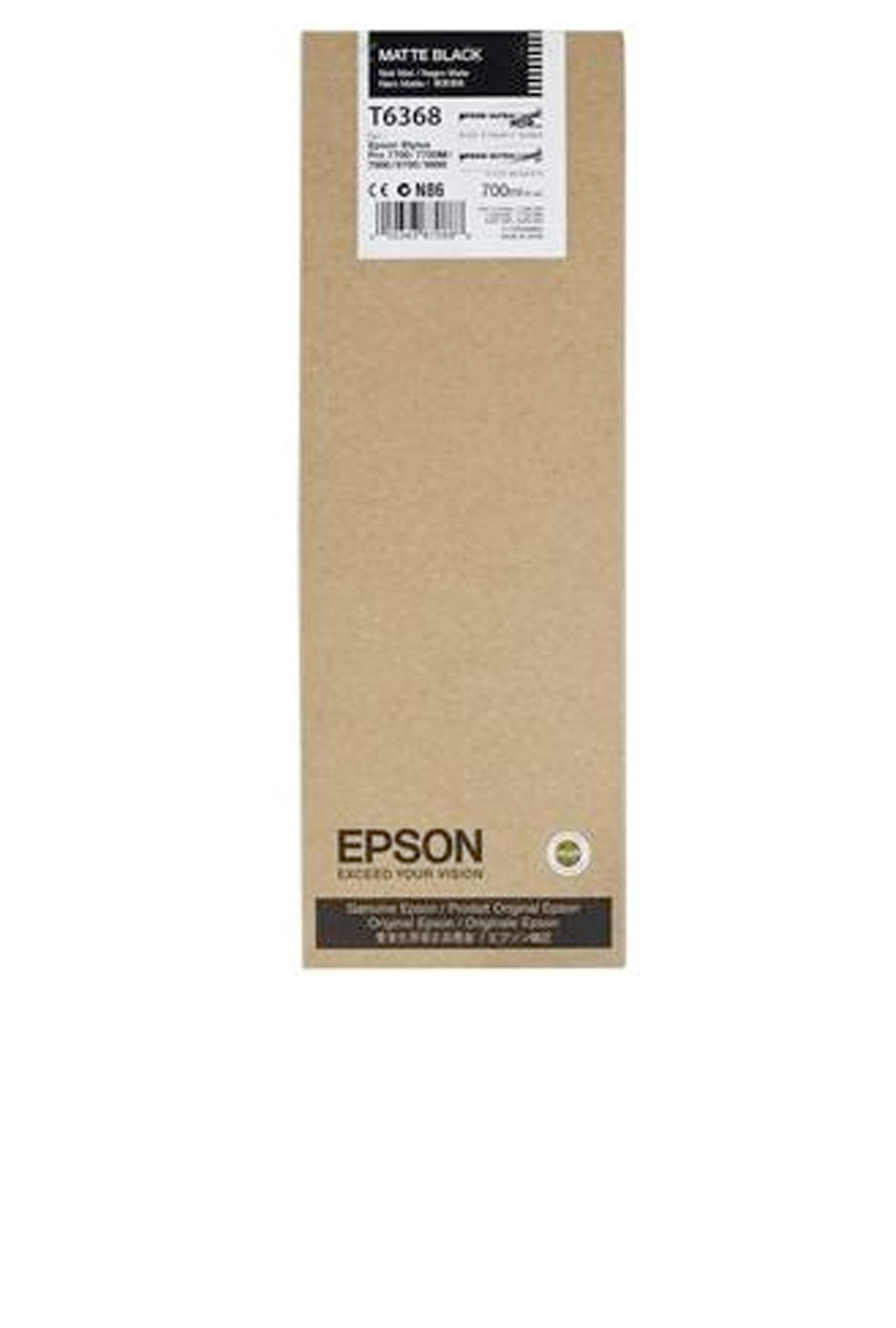 Epson EPSON HI MATTE BLACK INK (700 ML) (T636800)