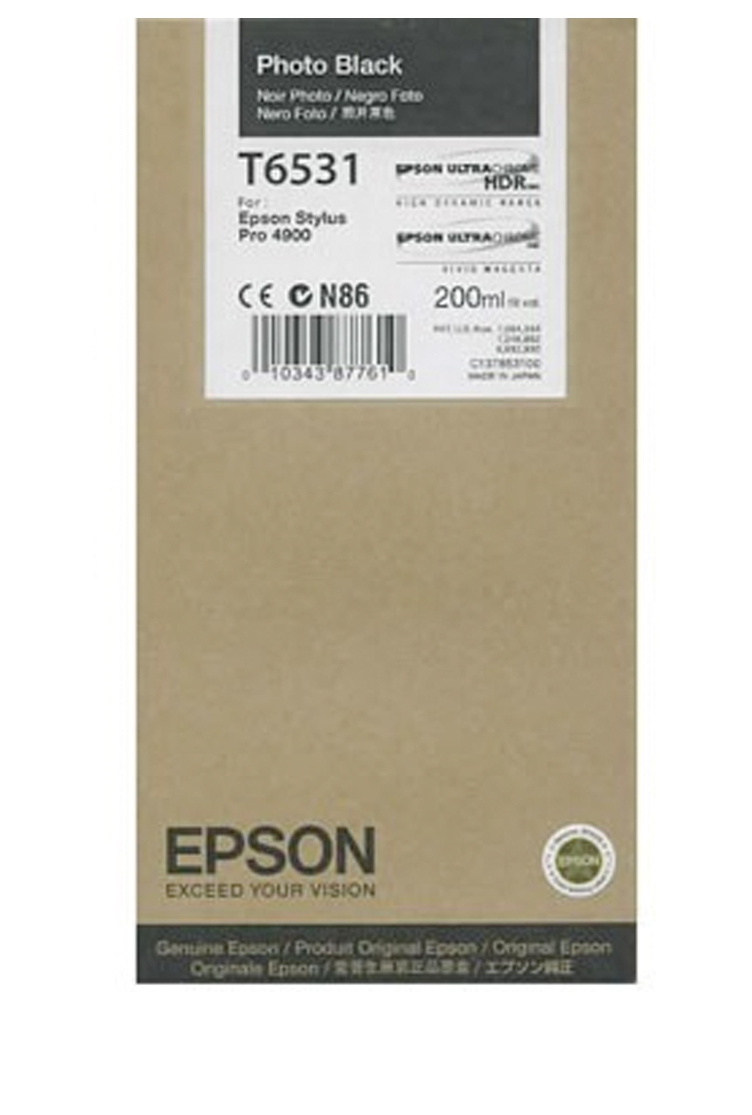 Epson EPSON SD PHOTO BLACK INK (200 ML) (T653100)