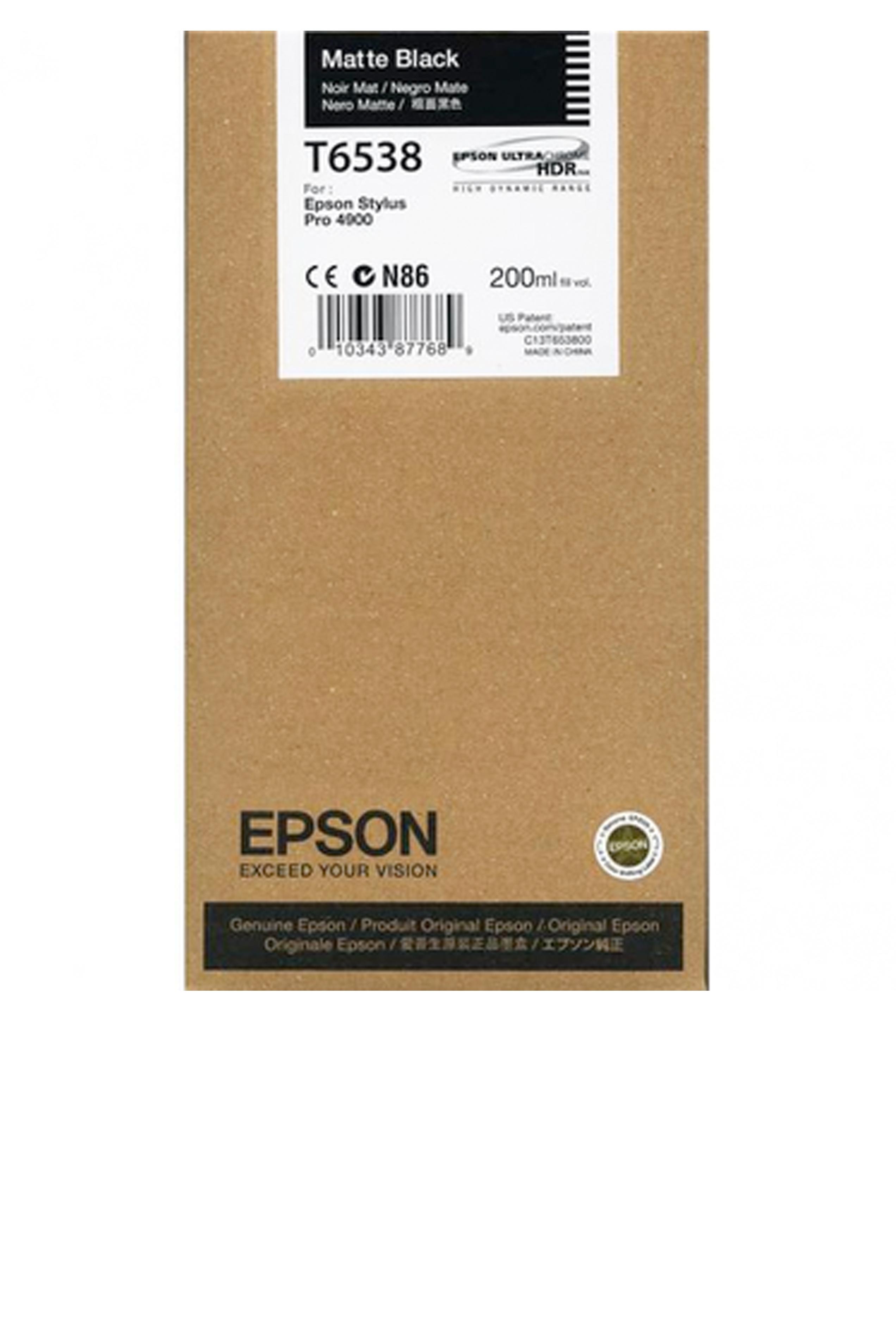 Epson EPSON SD MATTE BLACK INK (200 ML) (T653800)