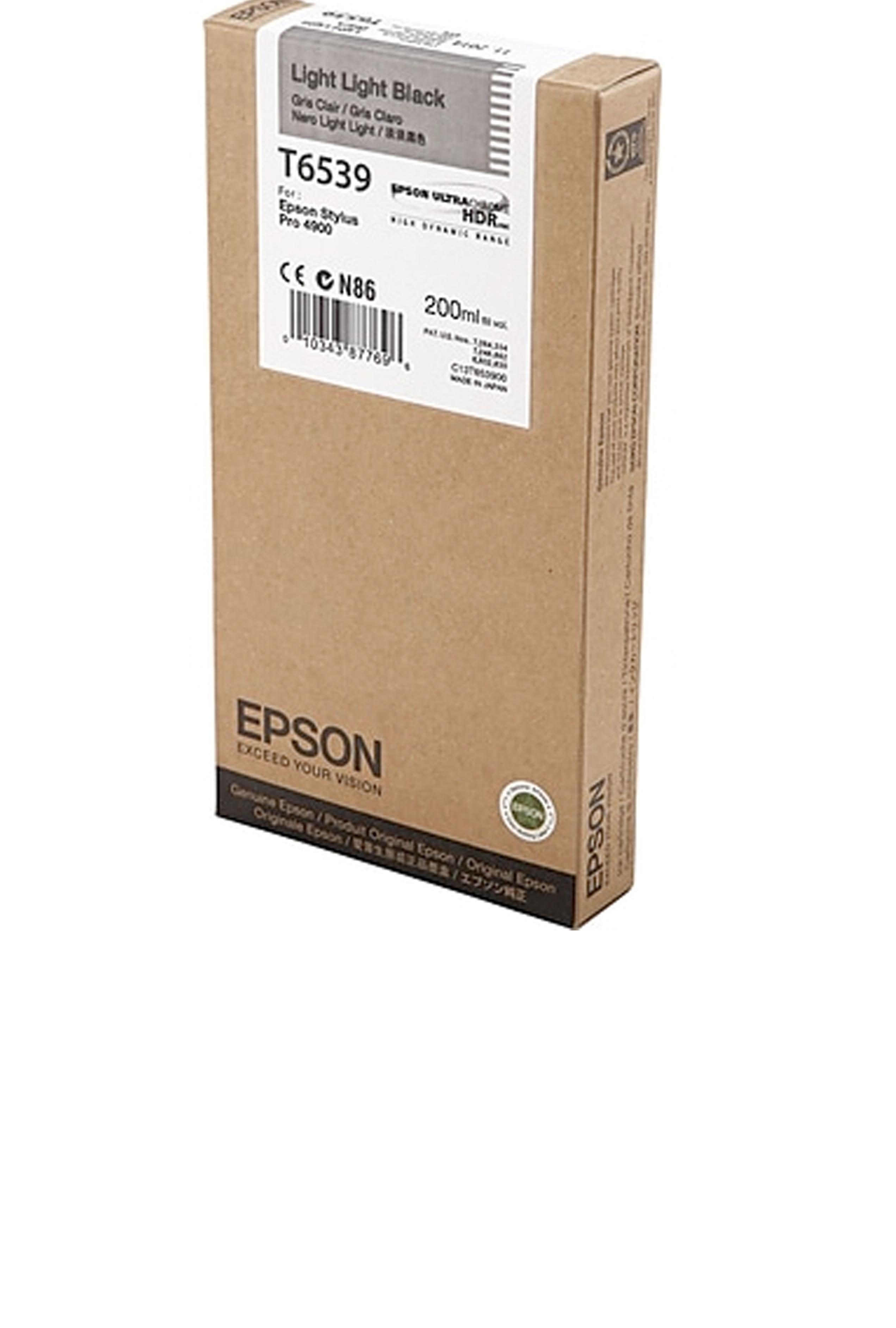 Epson EPSON SD LT BLACK INK (200 ML) (T653900)