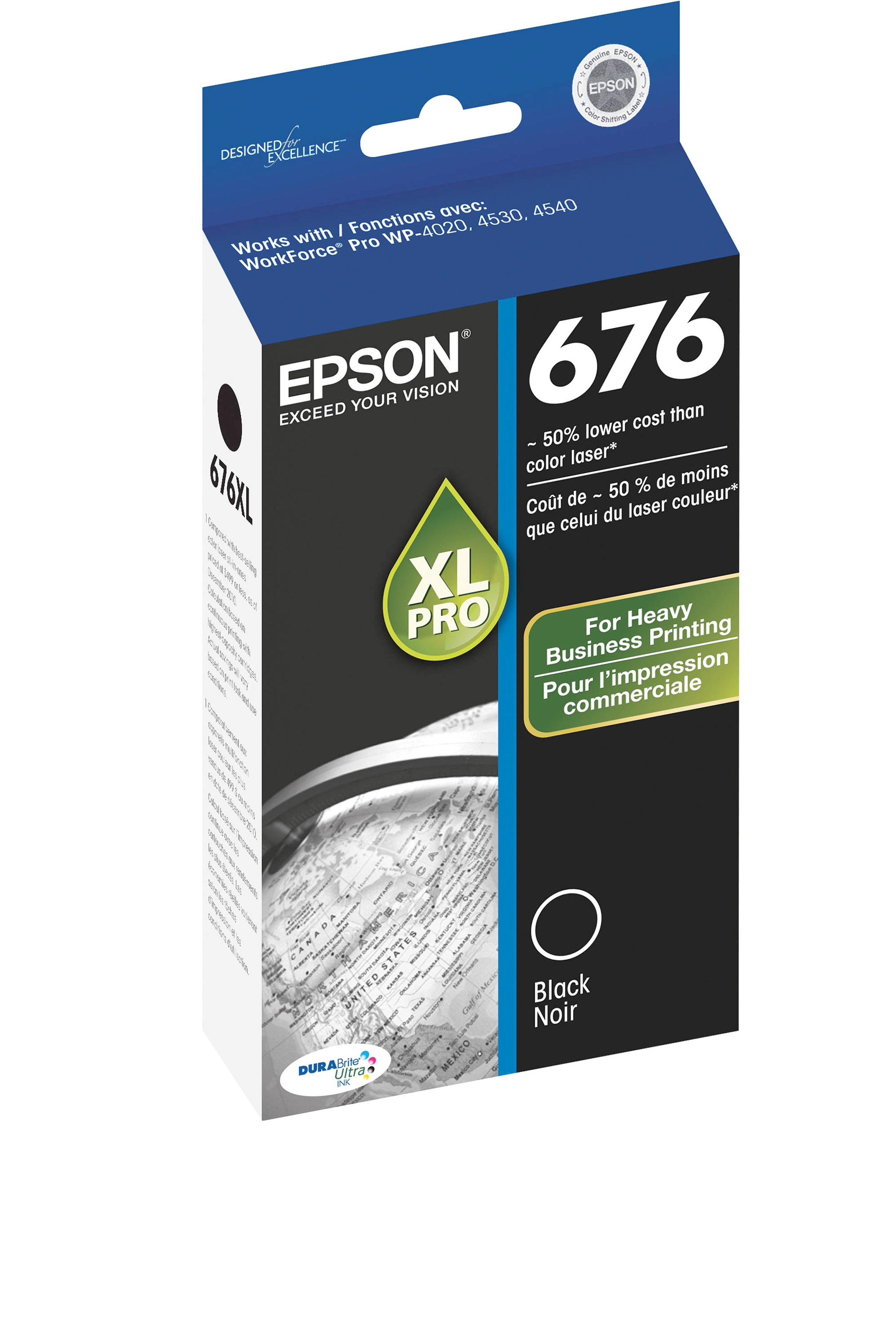 Epson EPSON HI BLACK INK (2400) (T676XL120)