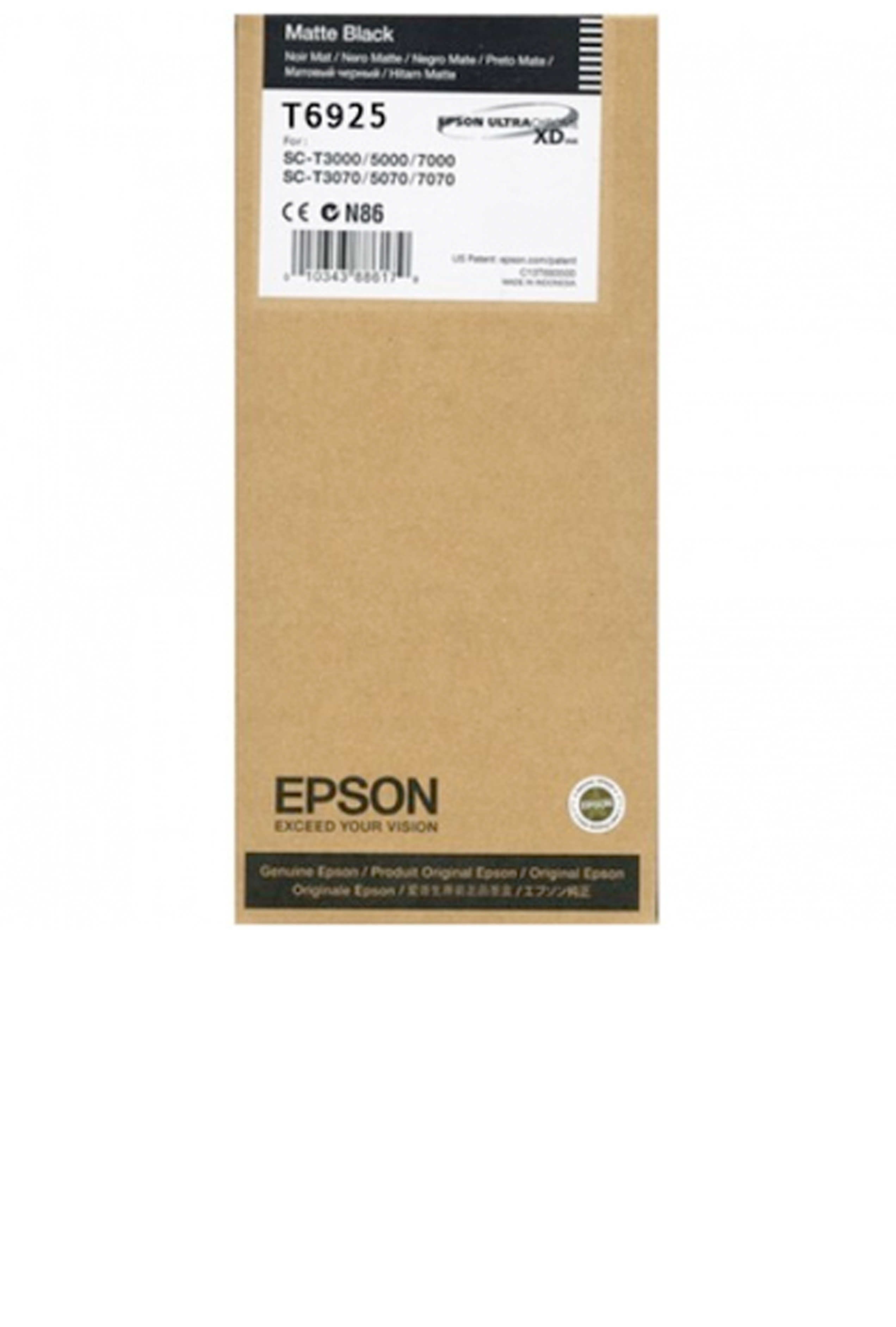 Epson EPSON LW MATTE BLACK INK (110 ML) (T692500)