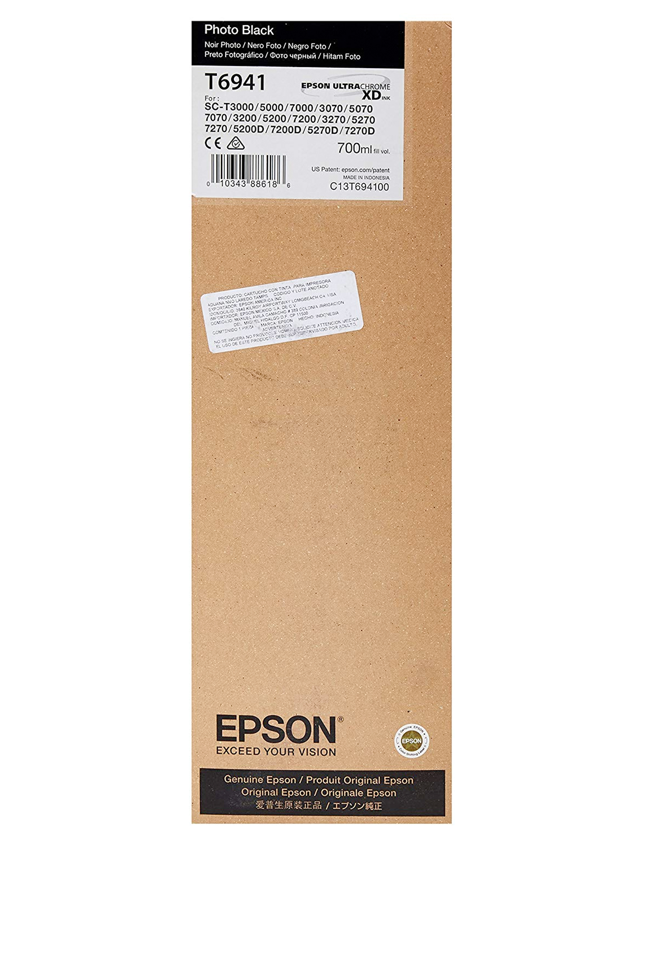 Epson EPSON HI PHOTO BLACK INK (700 ML) (T694100)