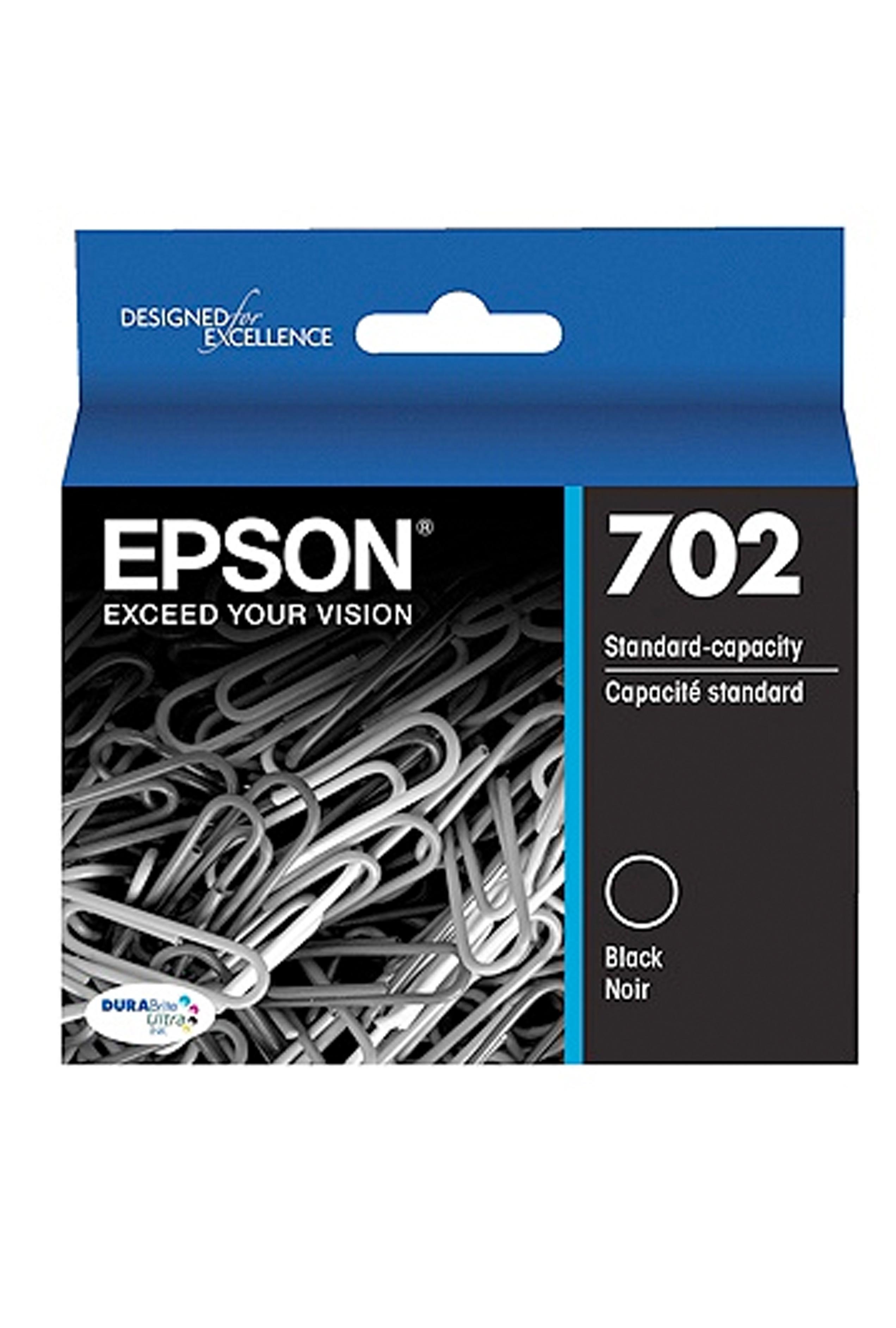 Epson T702, Black Ink Cartridge (T702120-S)