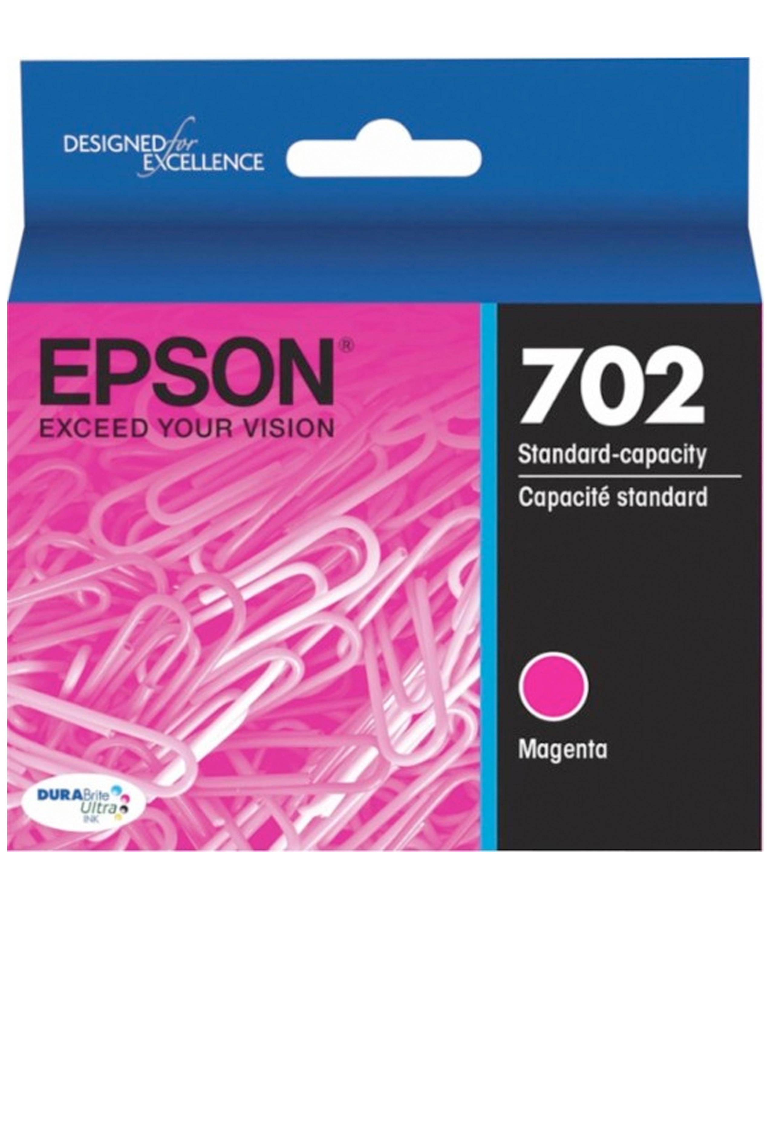 Epson T702, Magenta Ink Cartridge (T702320-S)