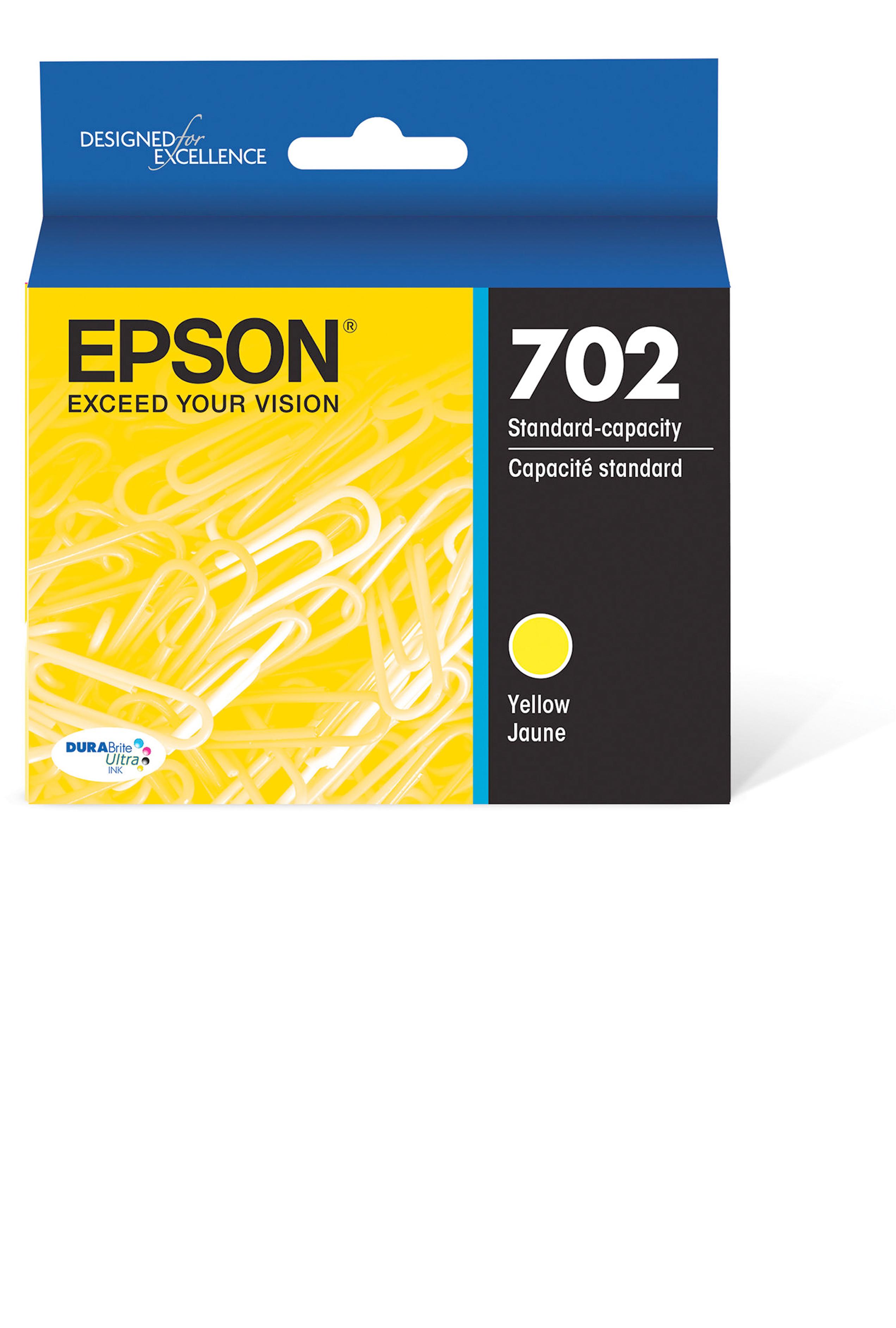 Epson T702, Yellow Ink Cartridge (T702420-S)