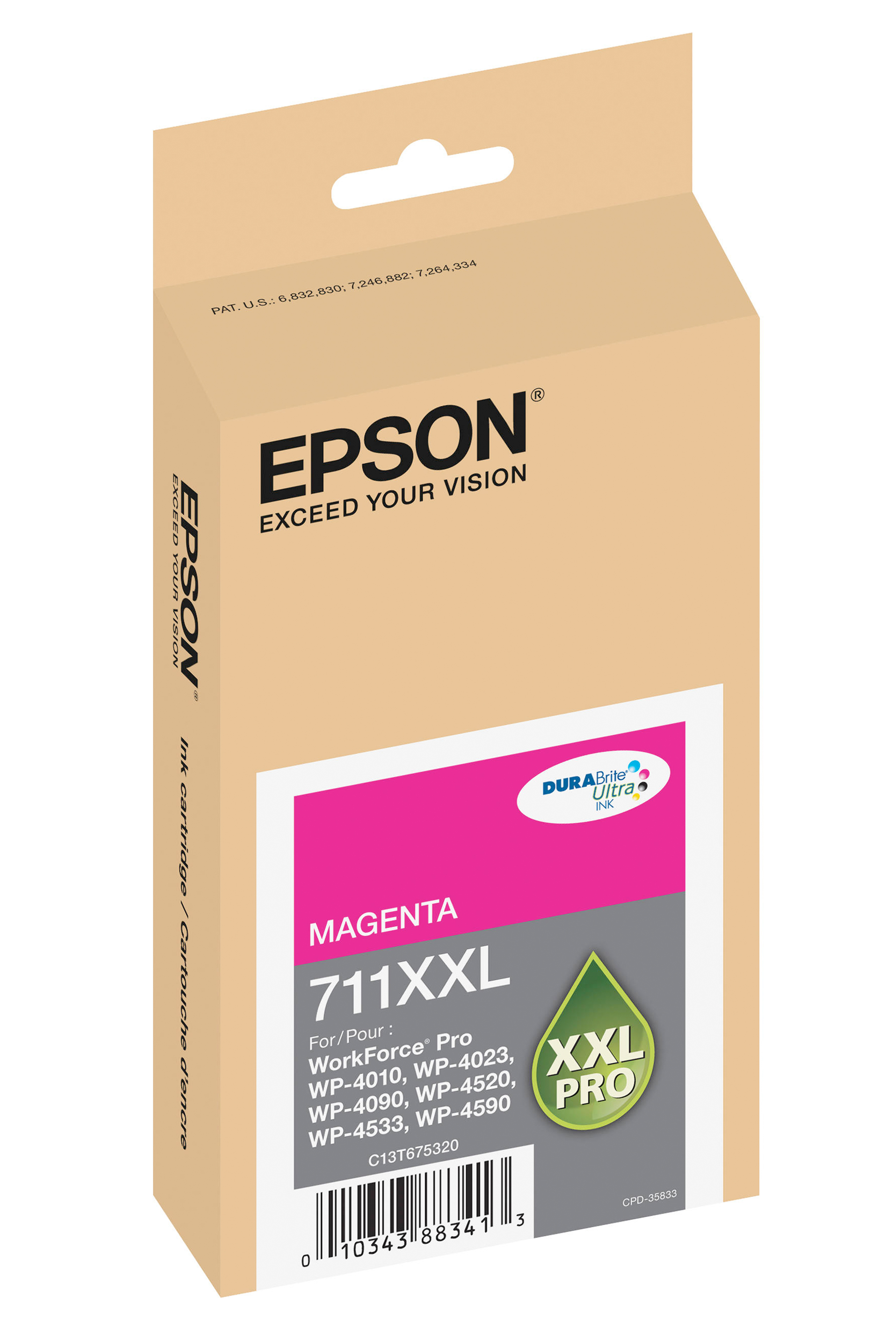 Epson EPSON XH MAGENTA INK (3400) (T711XXL320)
