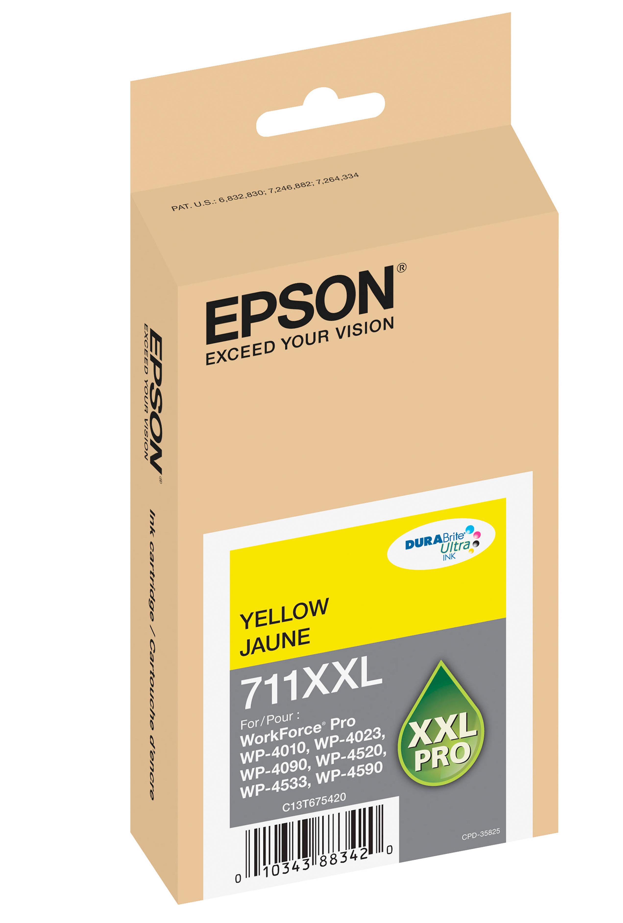 Epson EPSON XH YELLOW INK (3400) (T711XXL420)
