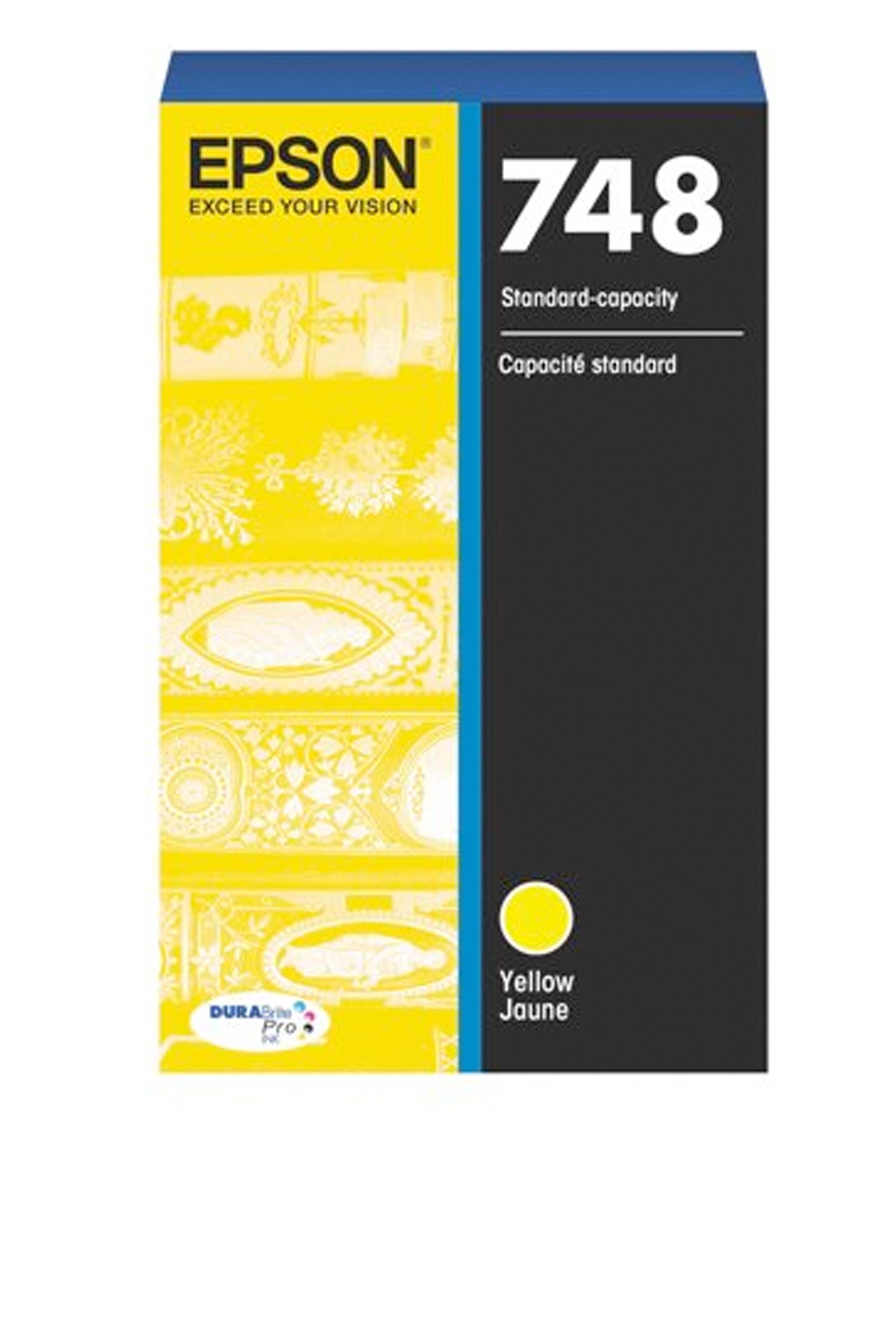 Epson 748, Yellow Ink Cartridge (T748420)