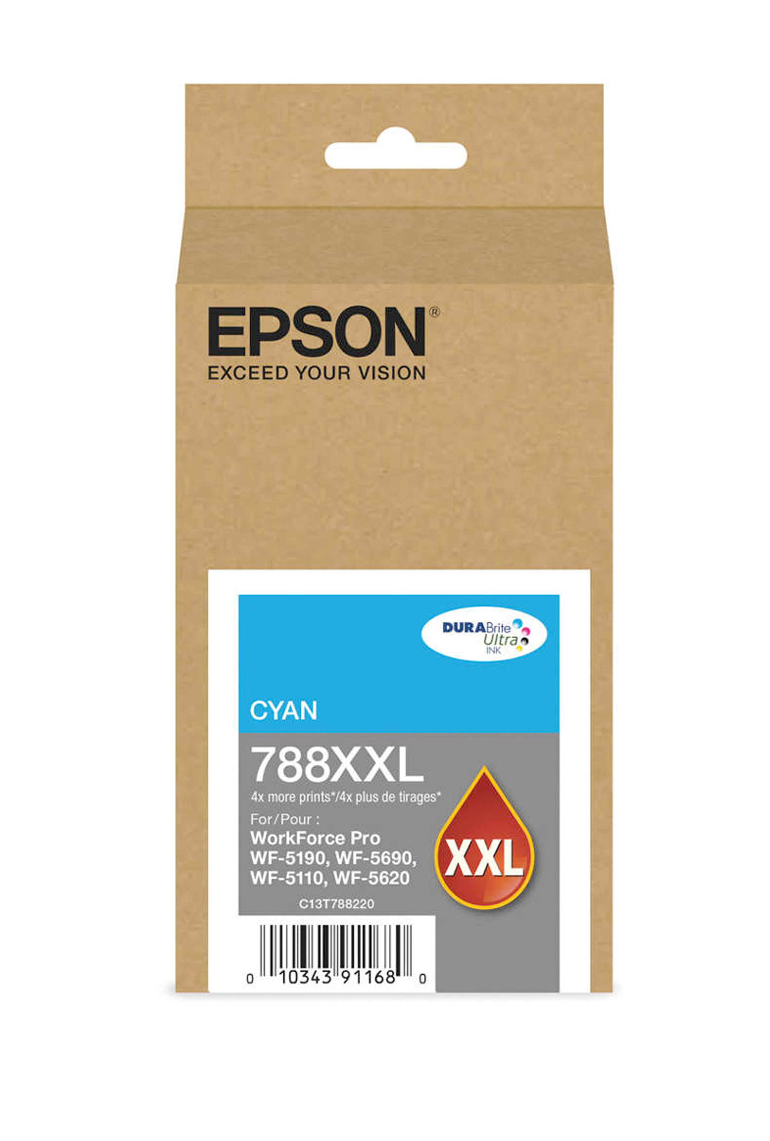 Epson EPSON XH CYAN INK (7000) (T748XXL220)