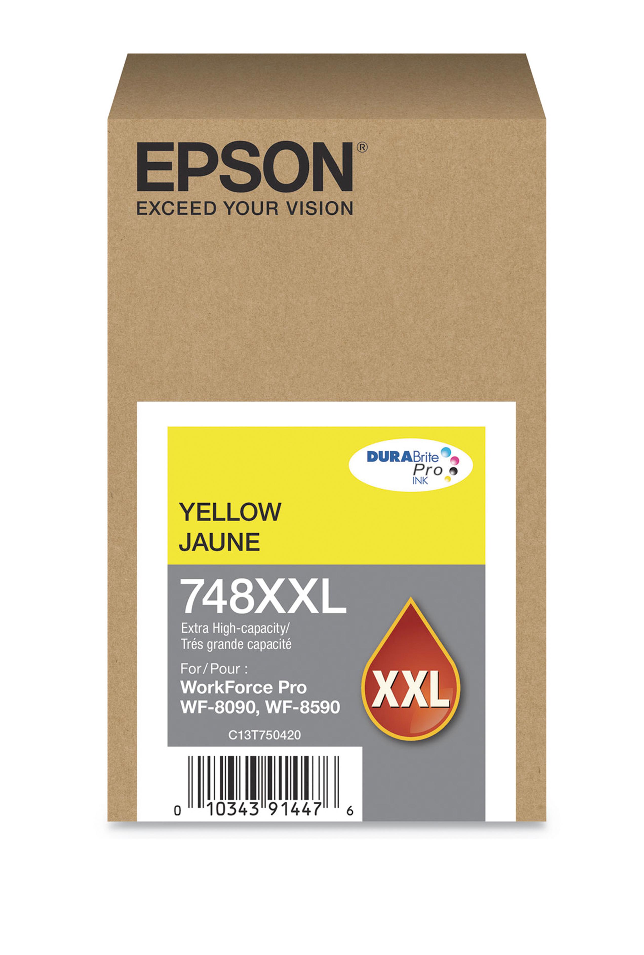 Epson EPSON XH YELLOW INK (7000) (T748XXL420)