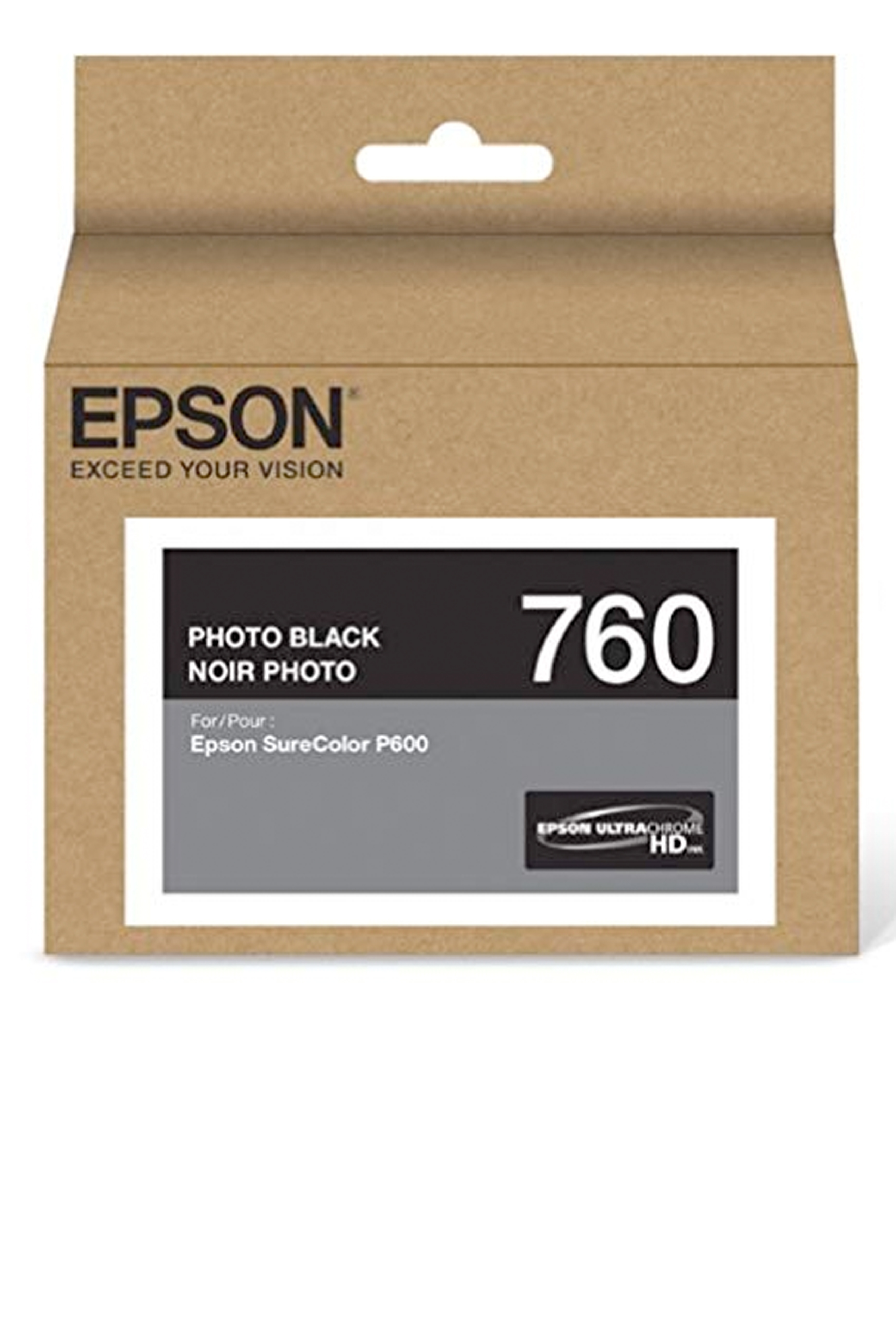 Epson 760, Photo Black Ink Cartridge (T760120)