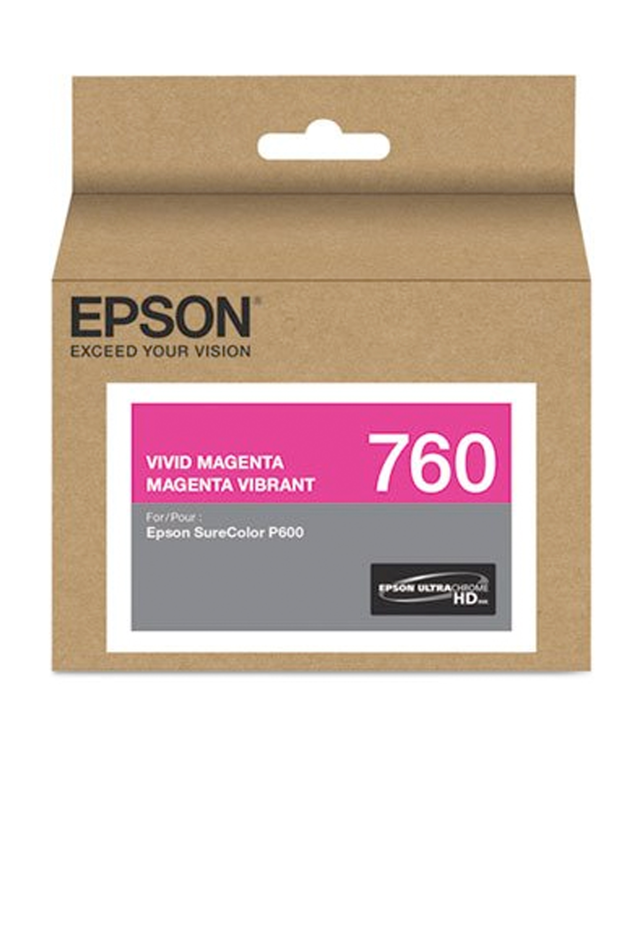 Epson 760, Vivid Magenta Ink Cartridge (T760320)