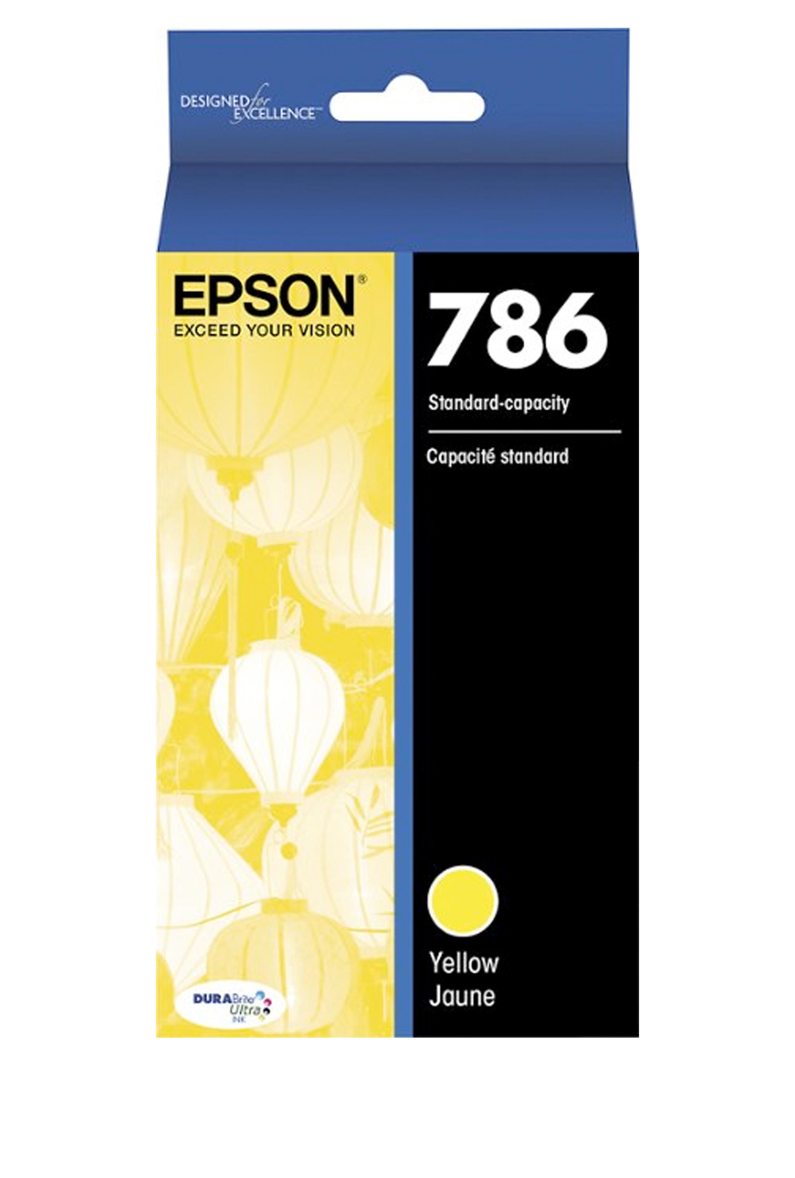 Epson 786, Yellow Ink Cartridge (T786420-S)