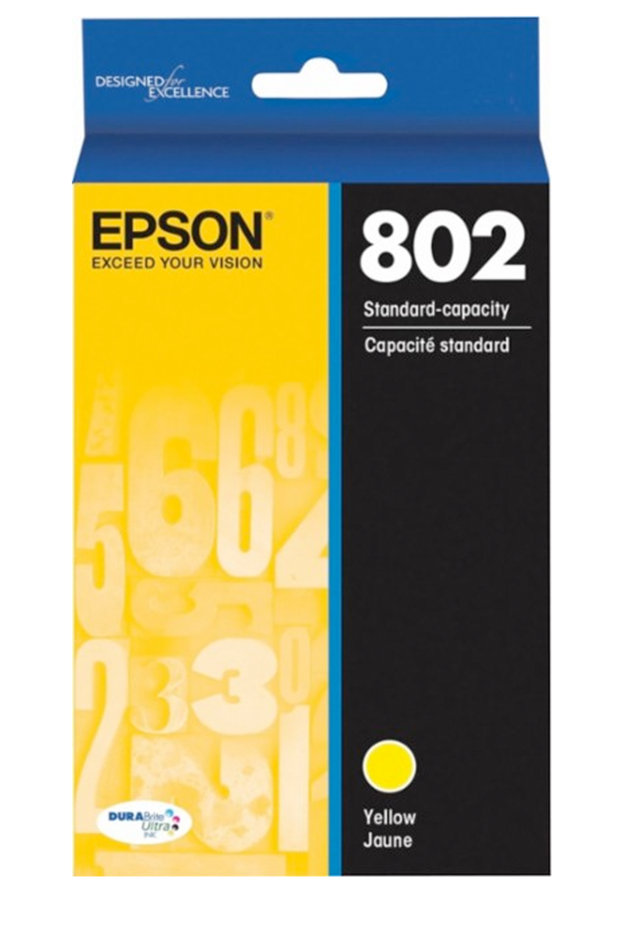 Epson T802, Yellow Ink Cartridge (T802420-S)