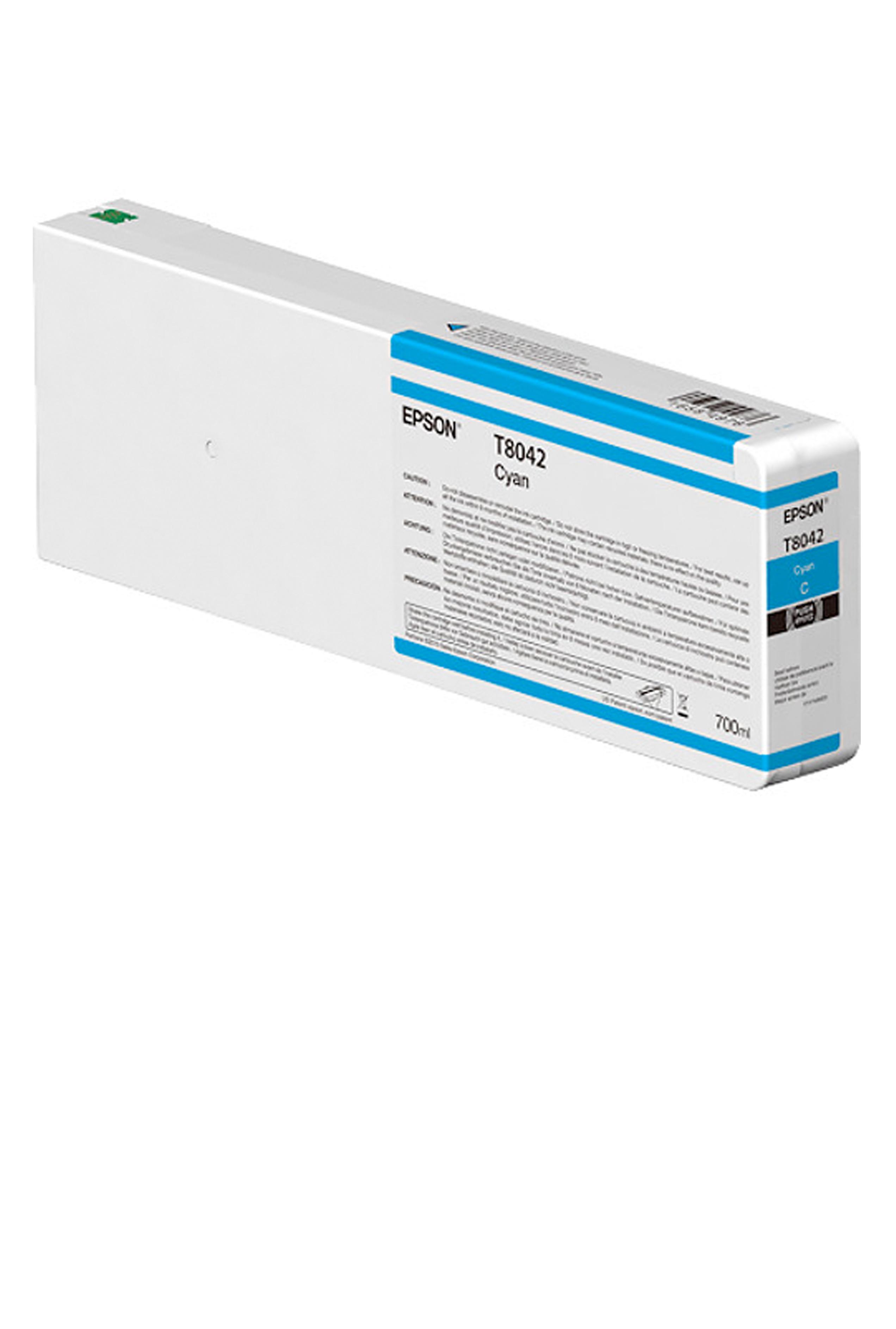 Epson EPSON XH CYAN INK (700 ML) (T804200)