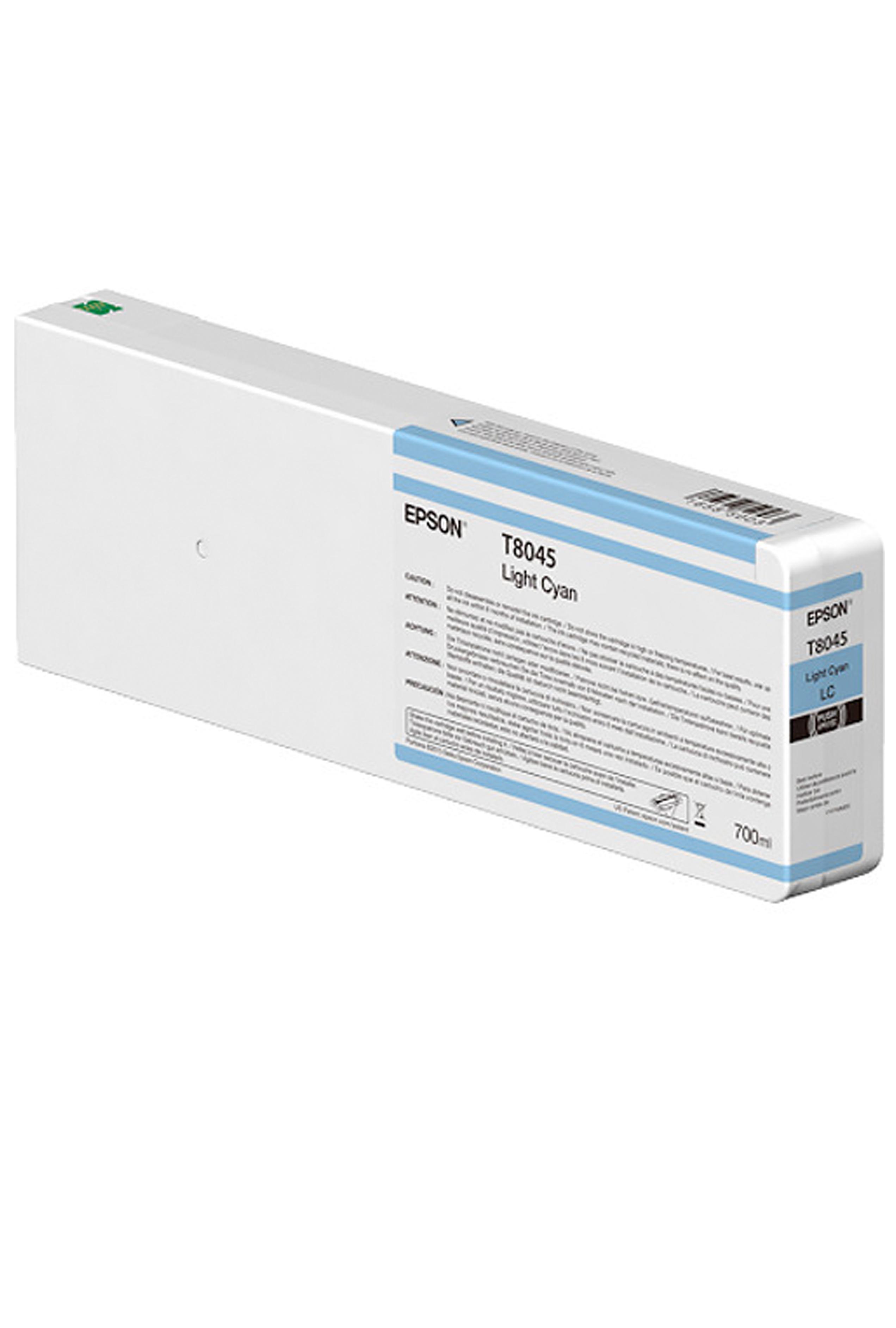 Epson EPSON XH LT CYAN INK (700 ML) (T804500)
