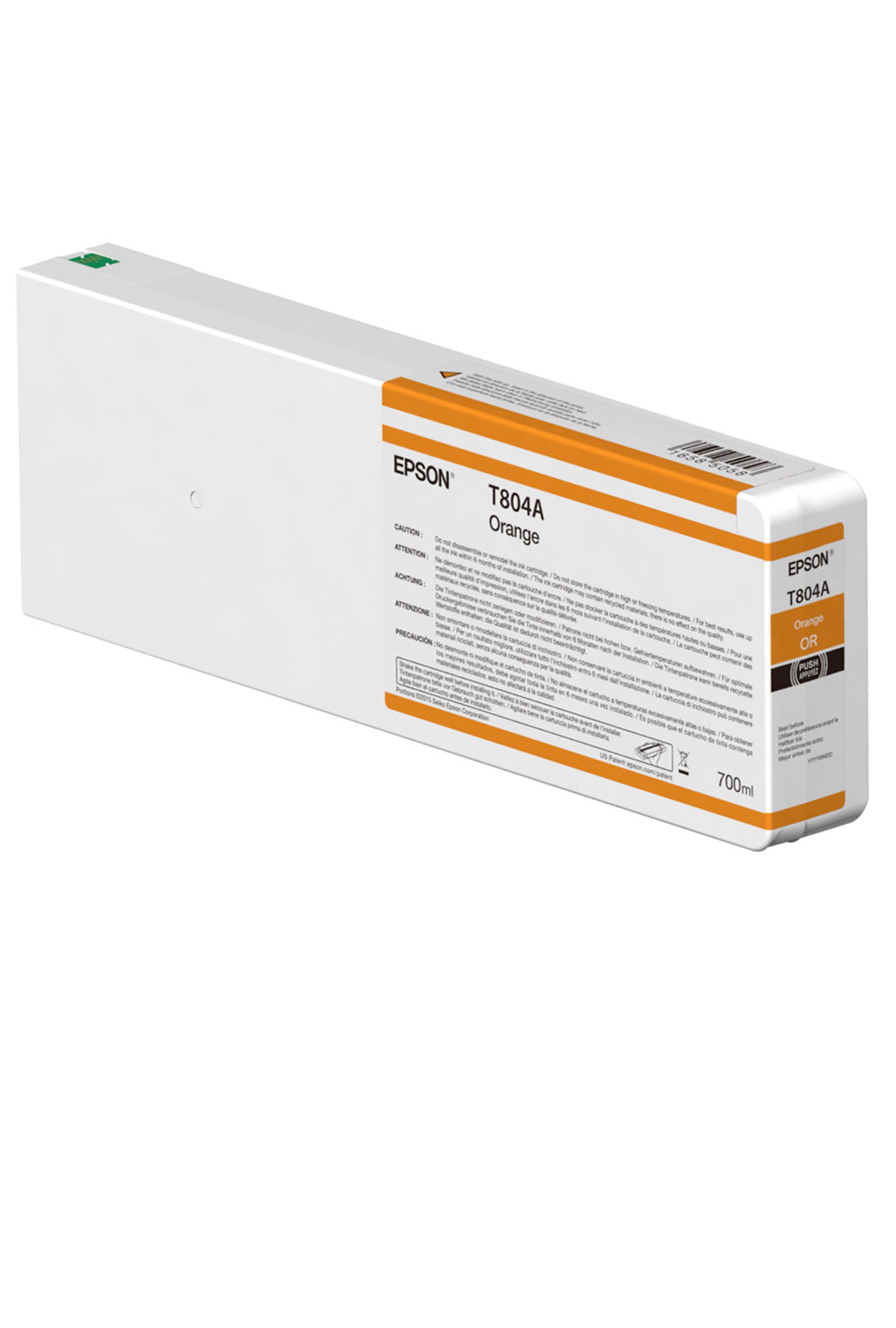 Epson EPSON XH ORANGE INK (700 ML) (T804A00)