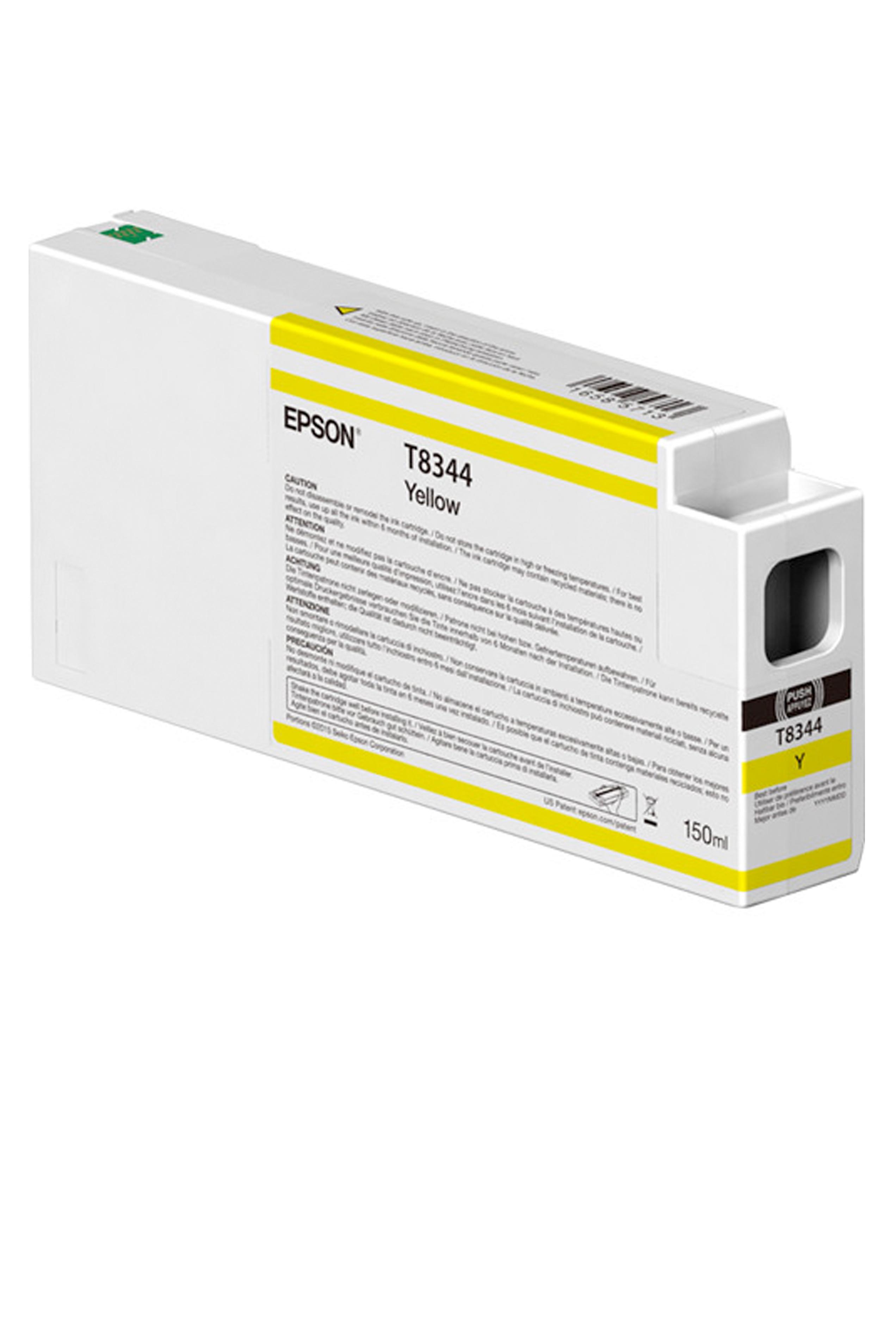 Epson EPSON SD YELLOW INK (150 ML) (T834400)