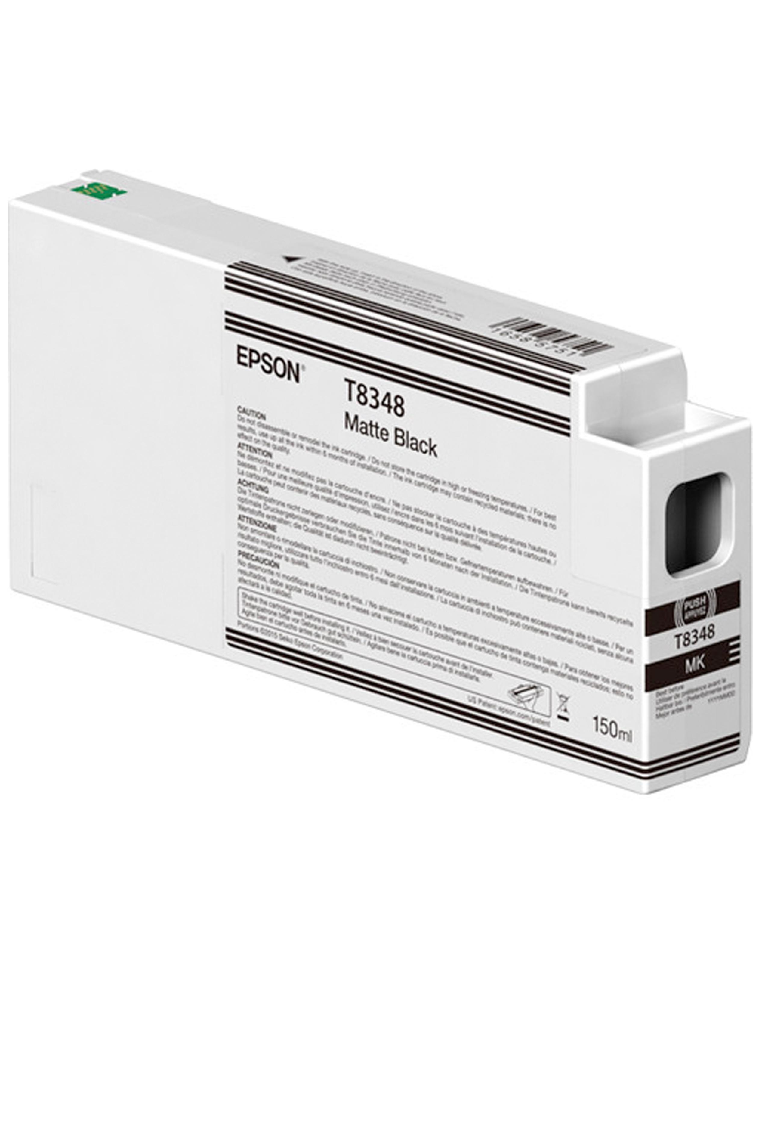 Epson EPSON SD MATTE BLACK INK (150 ML) (T834800)