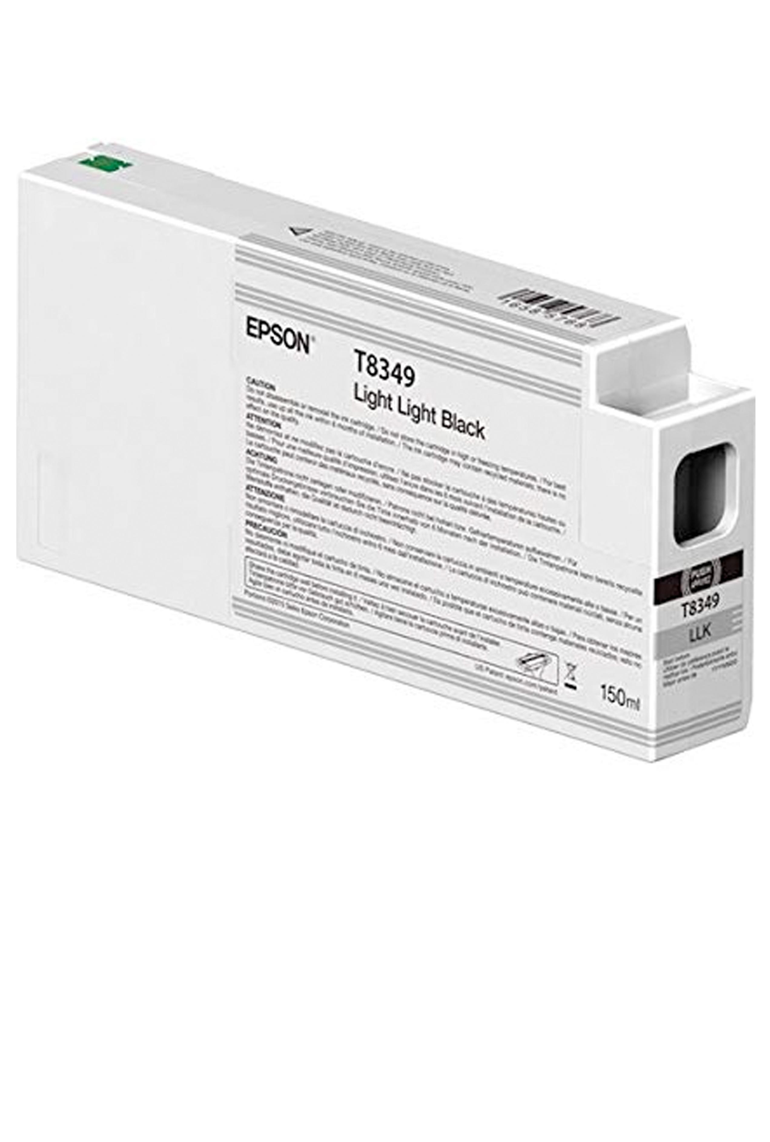 Epson EPSON SD LT BLACK INK (150 ML) (T834900)