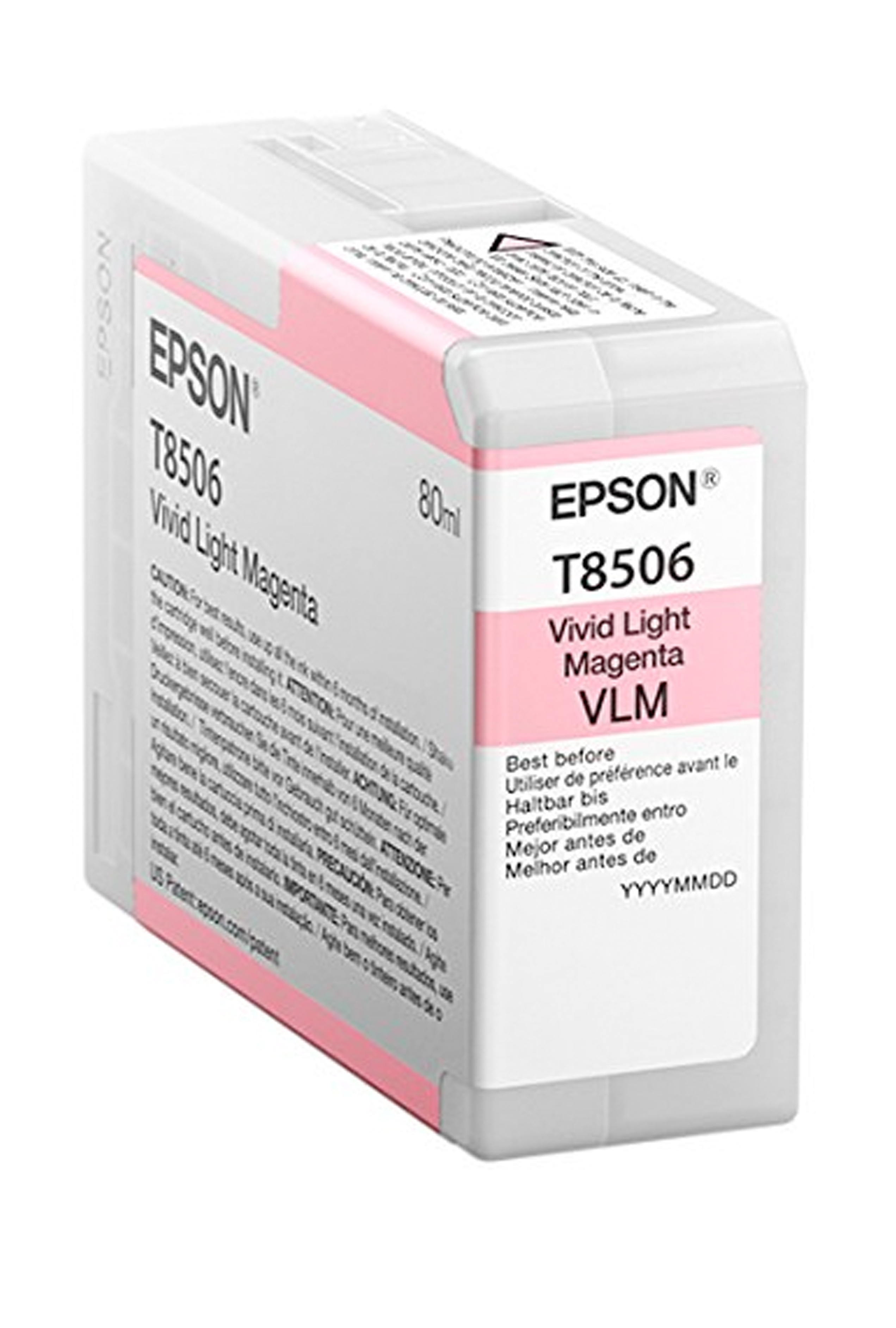 Epson EPSON SD VIVID LT MAGENTA (80 ML) (T850600)