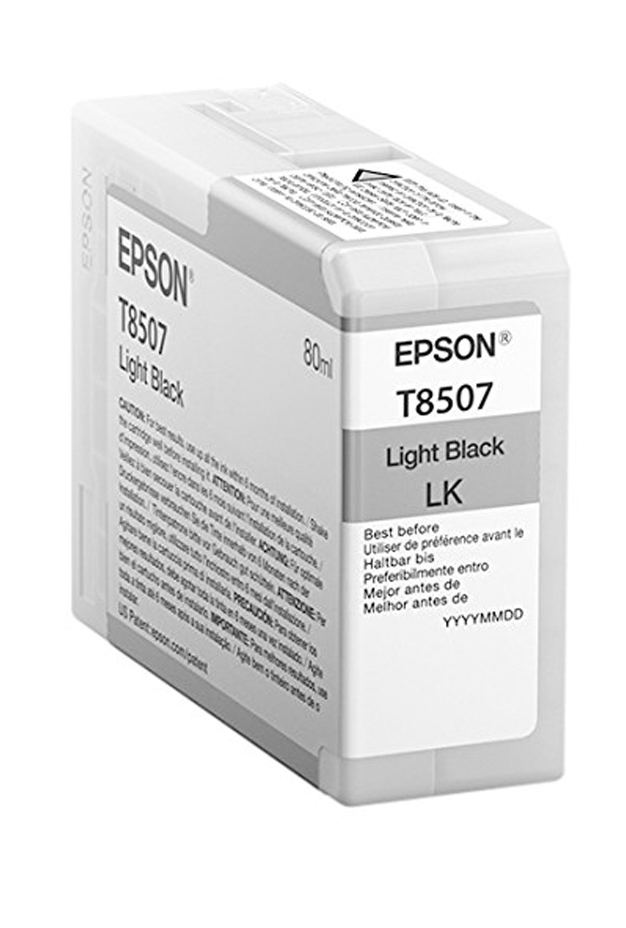 Epson EPSON SD LT BLACK INK (80 ML) (T850700)