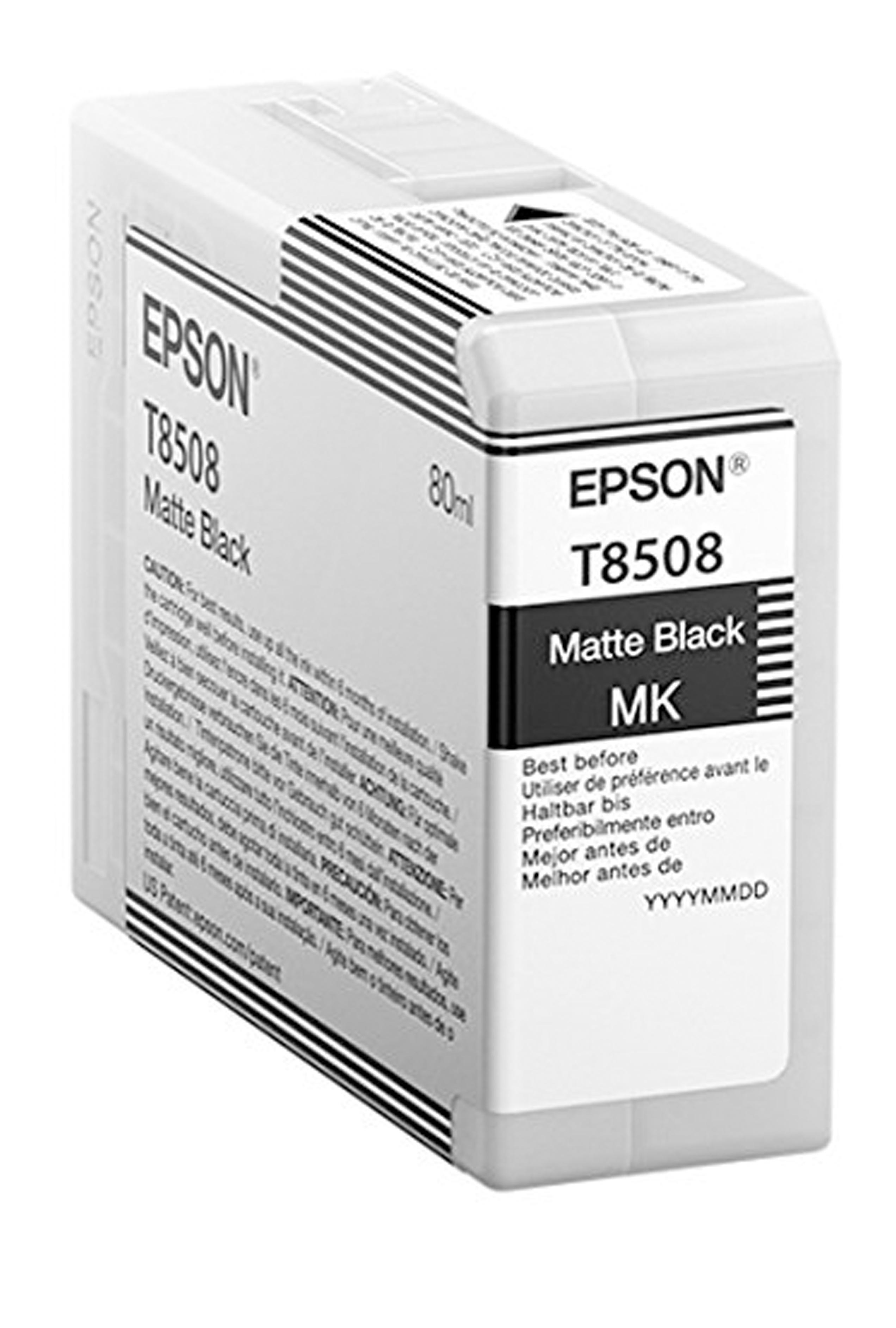 Epson EPSON SD MATTE BLACK INK (80 ML) (T850800)