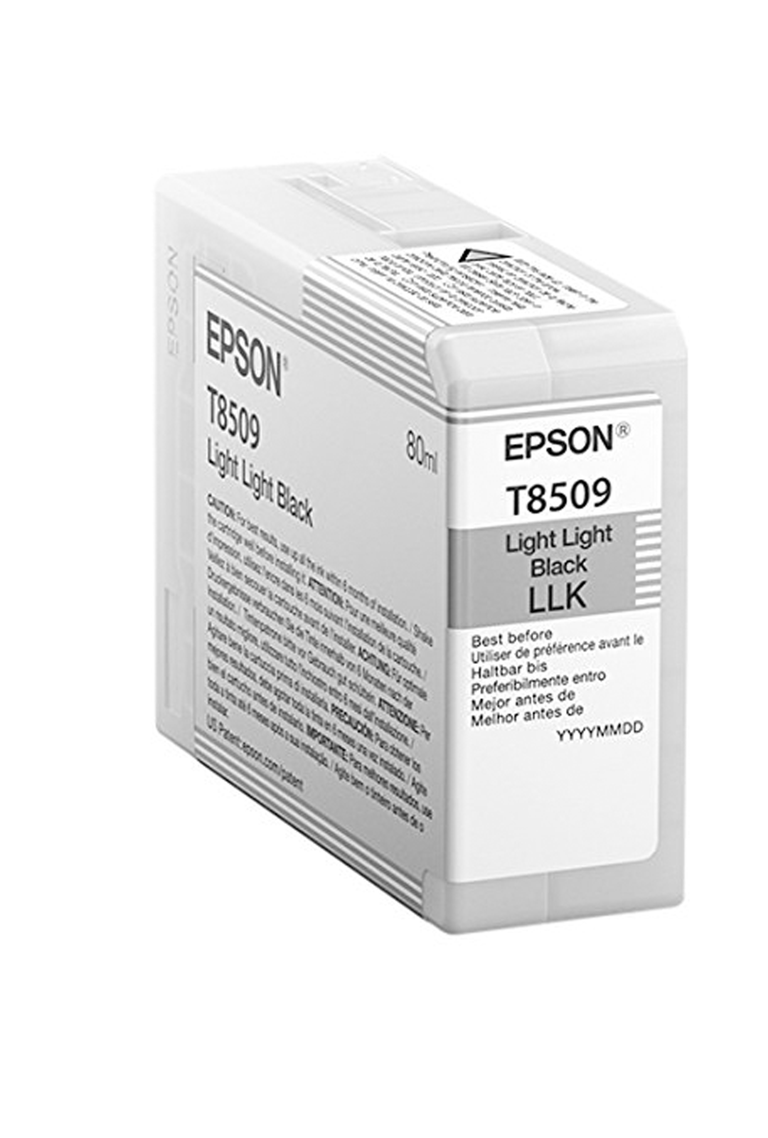 Epson EPSON SD LT BLACK INK (80 ML) (T850900)