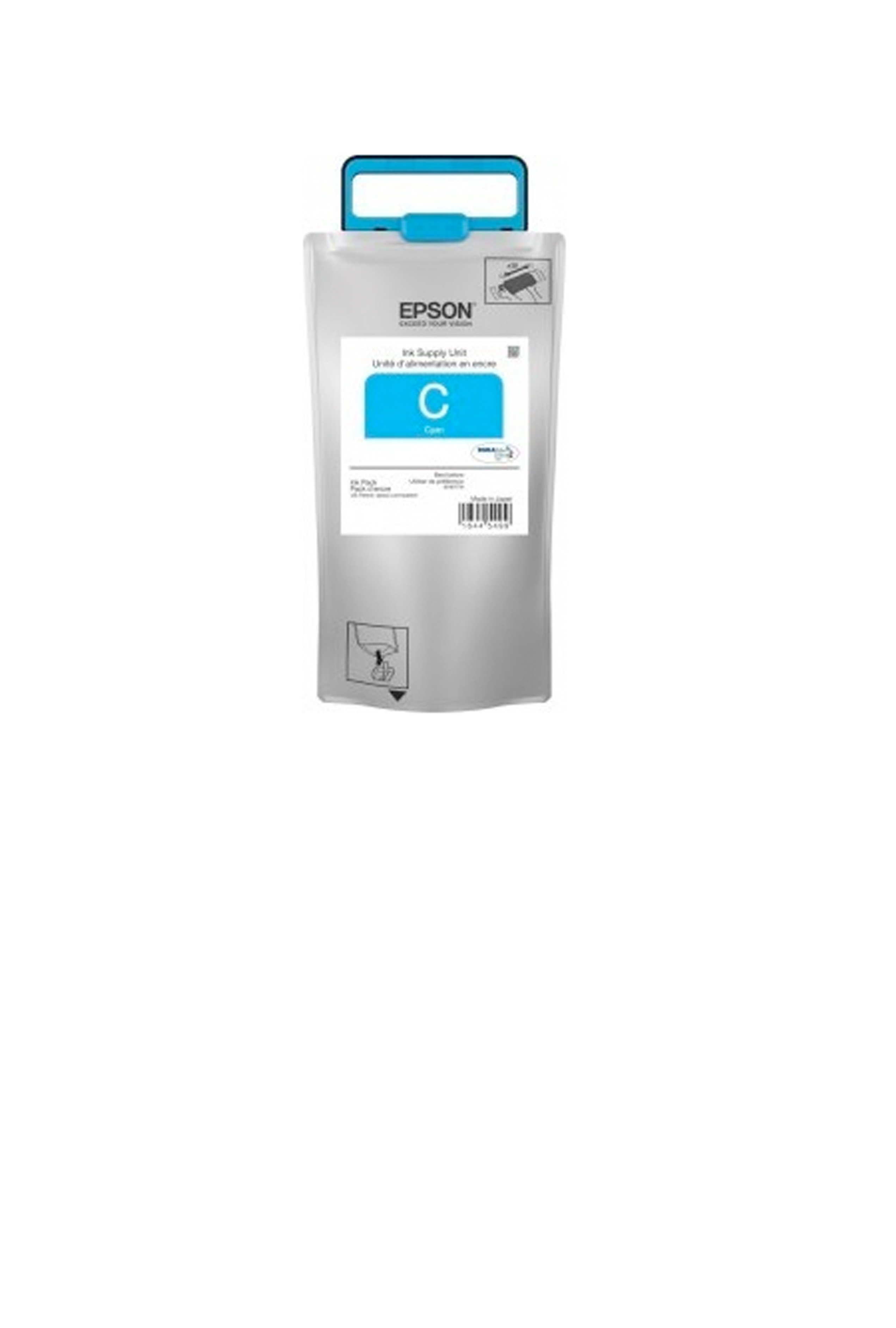 Epson T974, Cyan Ink Pack, Extra High-capacity (T974220)