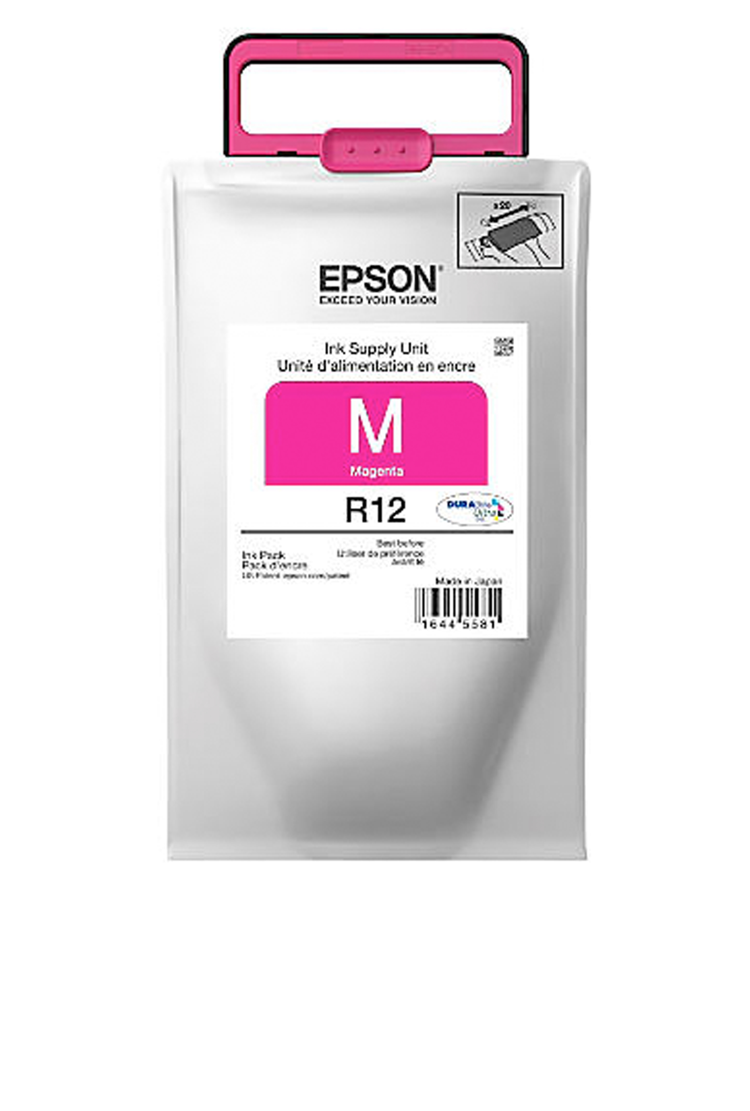Epson R12, Magenta Ink Pack (TR12320)