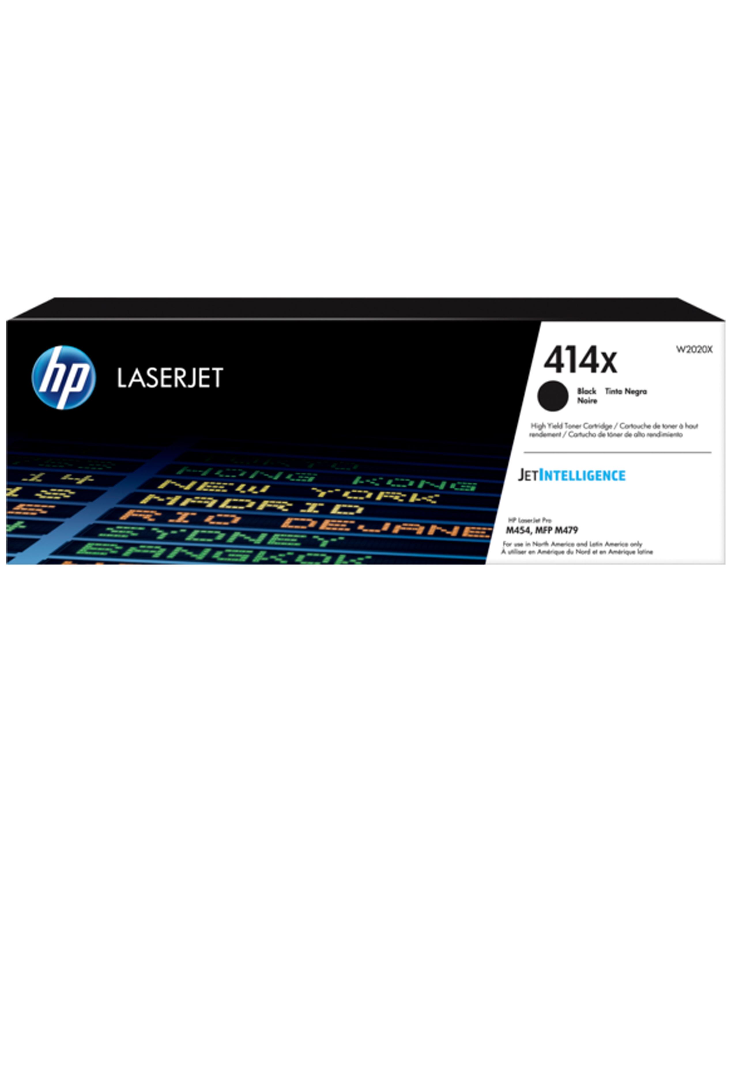 W2020X High Yield Black Toner Cartridge HP 414X