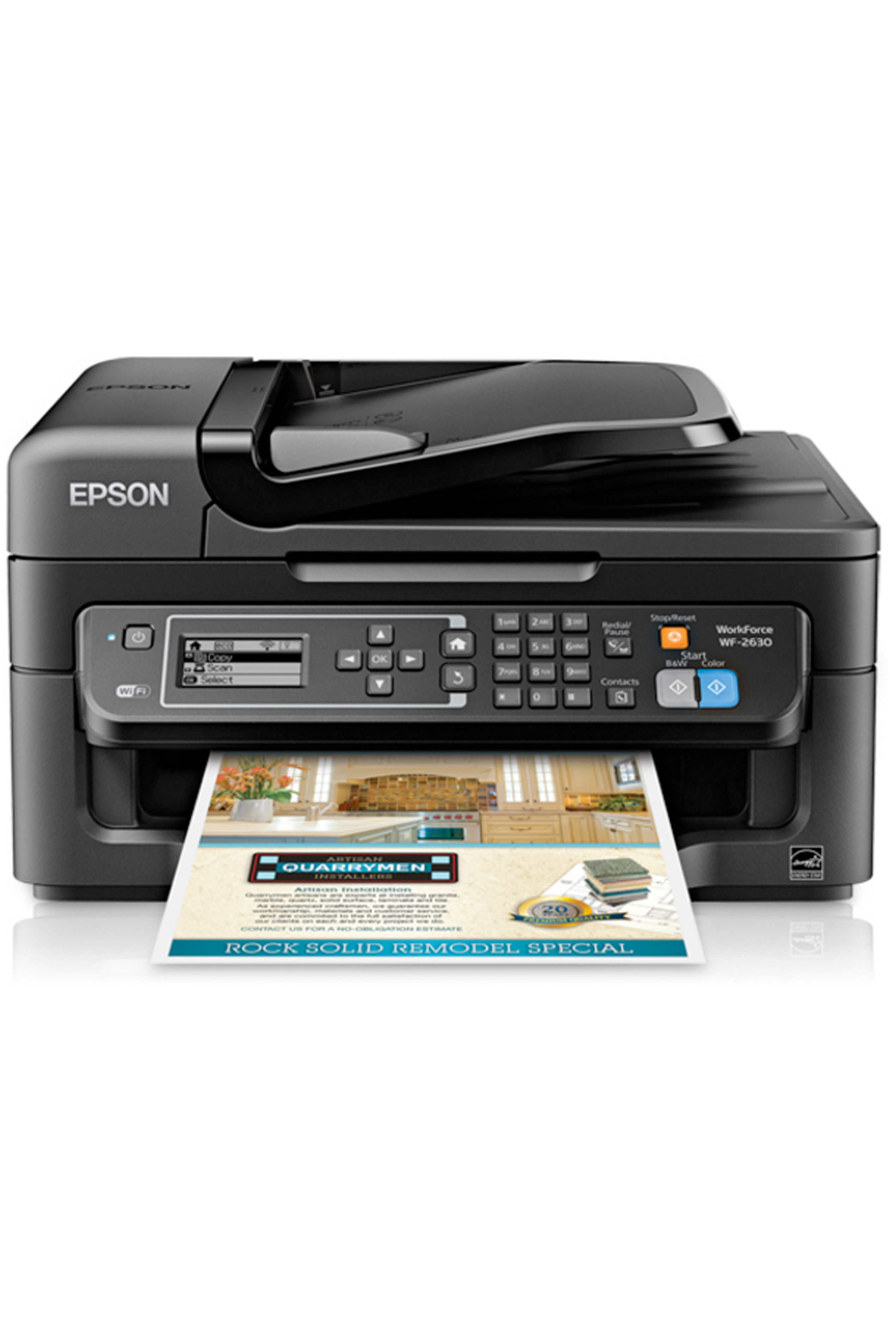 Epson WorkForce WF-2630 All-in-One Printer (9/4.7ppm)
