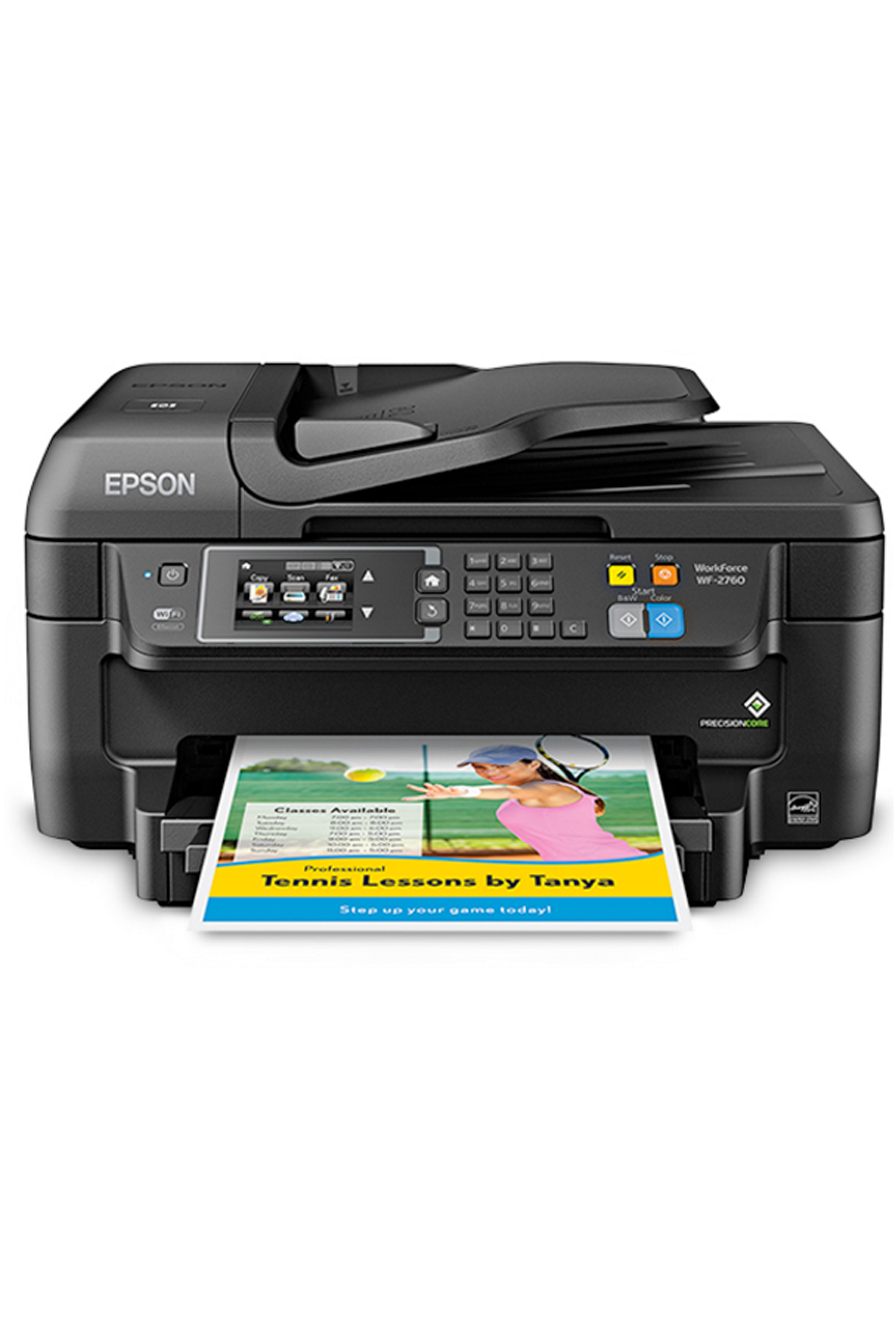 Epson WorkForce WF-2760 All-in-One Printer (13.7/7.3ppm)